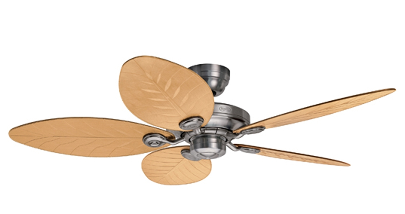 Outdoor Ceiling Fans At Kichler Regarding Fashionable Hunter Ceiling Fan (View 20 of 20)