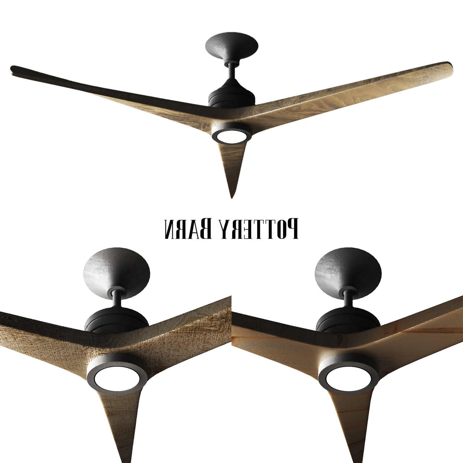 Outdoor Ceiling Fans For Barns Inside Famous Pottery Barn Spitfire Indooroutdoor Ceiling Fanerkin_Aliyev (Gallery 3 of 20)