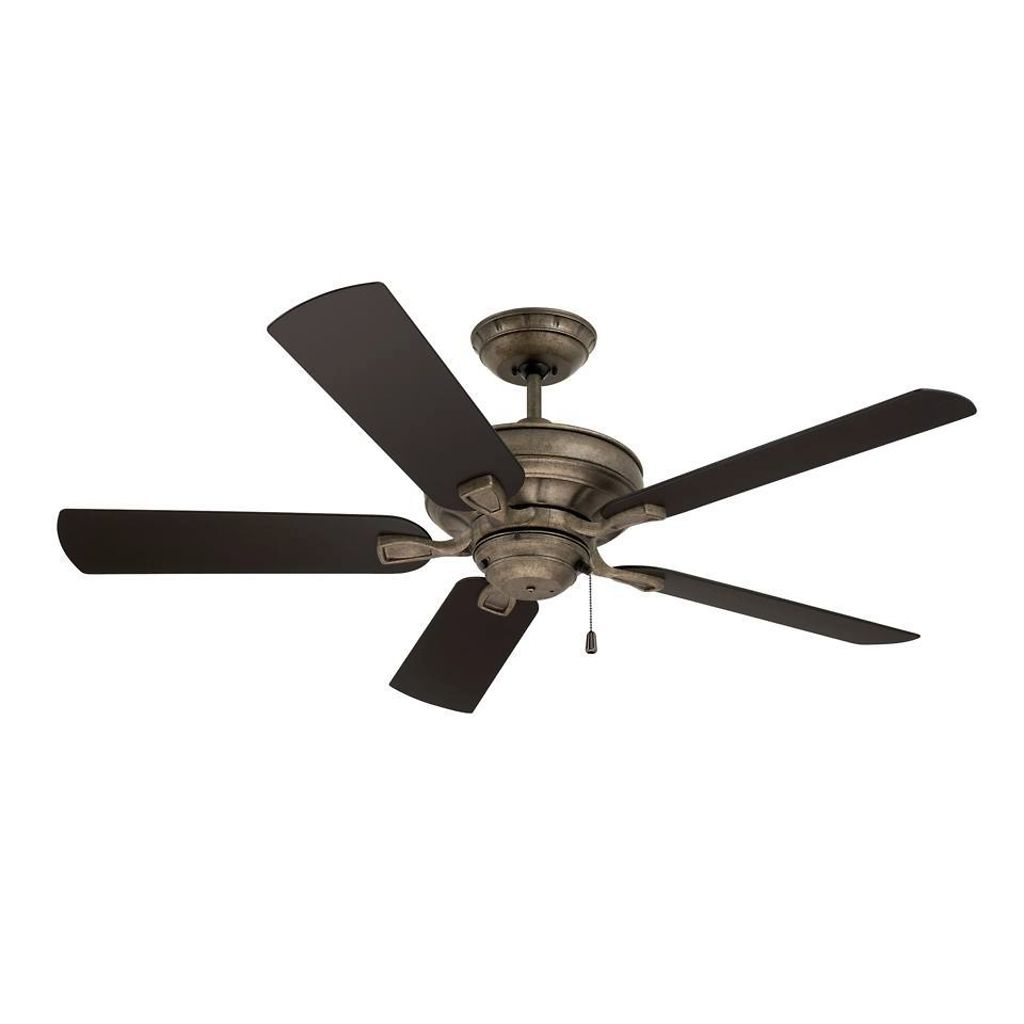 Outdoor Ceiling Fans For High Wind Areas In Favorite 52 Inch Bronze Indoor/outdoor Ceiling Fan (View 11 of 20)