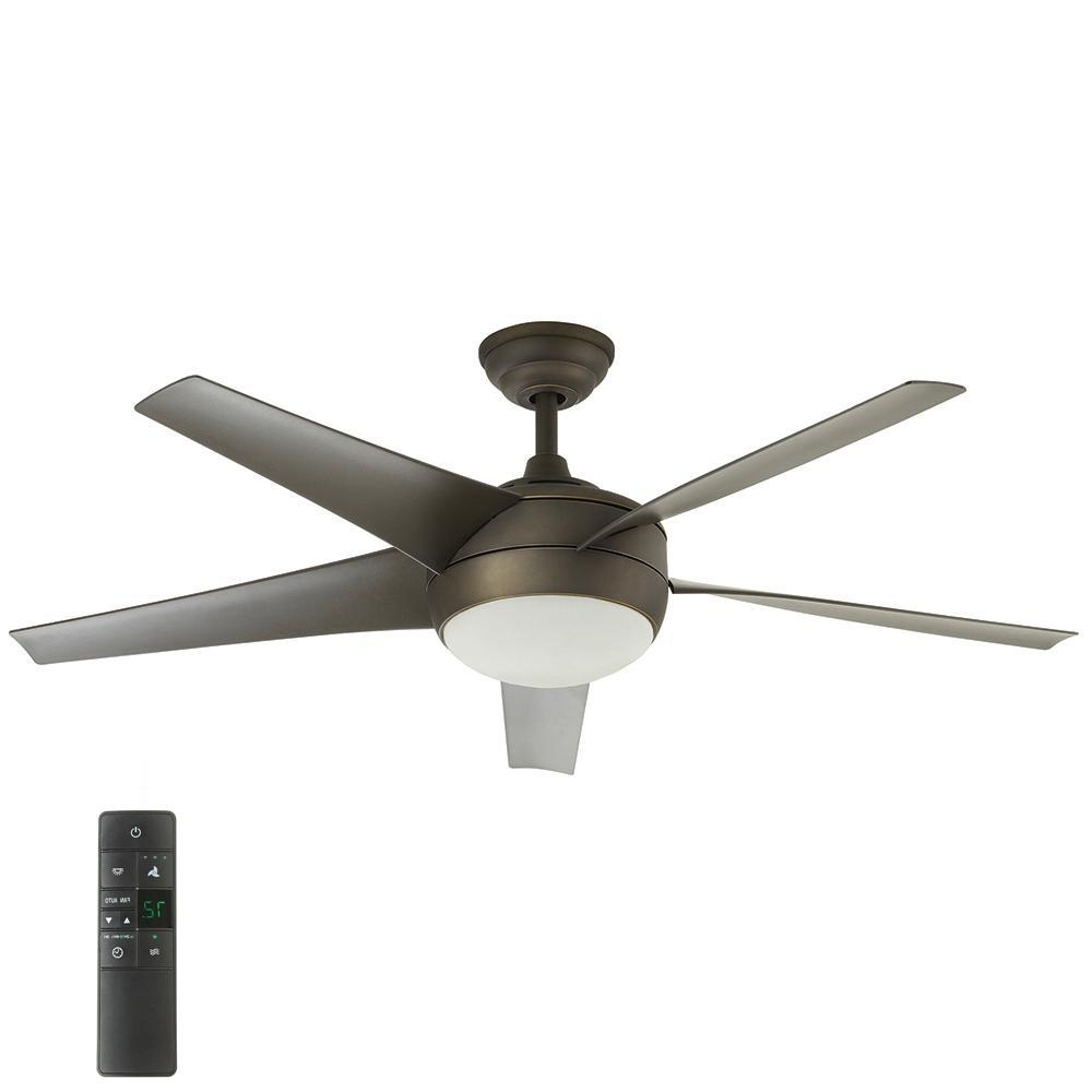 Outdoor Ceiling Fans For High Wind Areas Throughout Well Liked Home Decorators Collection Windward Iv 52 In (View 7 of 20)