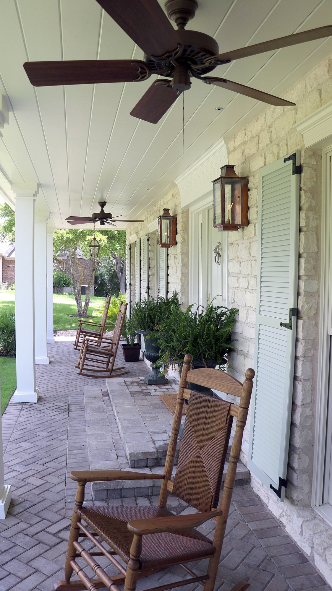 Outdoor Ceiling Fans For Porch Within Most Up To Date Front Porch 4 Hunter Original Outdoor Ceiling Fan – Hunter Fan Blog (View 20 of 20)