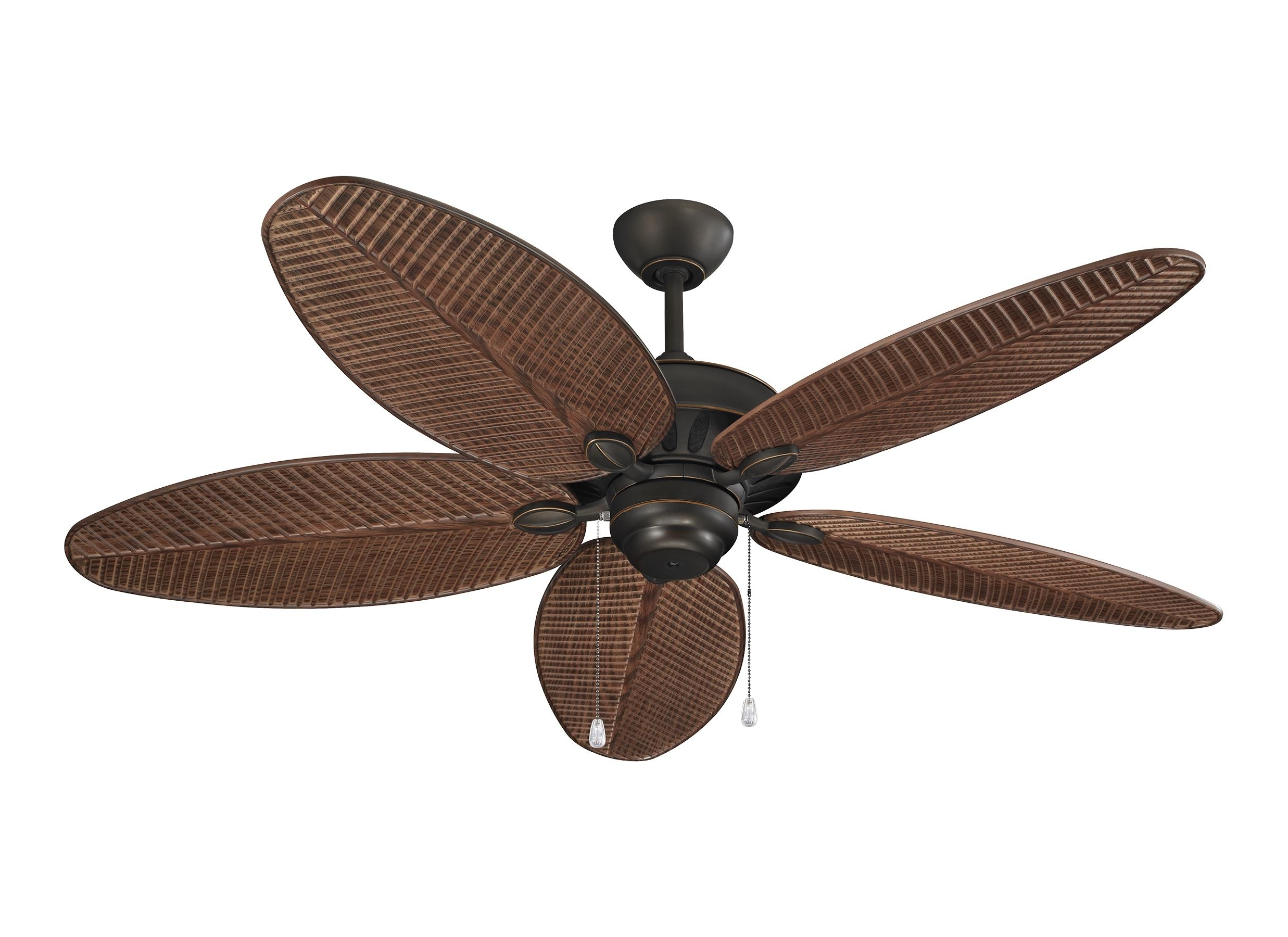 "Outdoor Ceiling Fans For Wet Areas Regarding Most Popular 5Cu52Rb,52"" Cruise Outdoor Fan – Roman Bronze (Wet Rated) ,roman Bronze (View 13 of 20)"