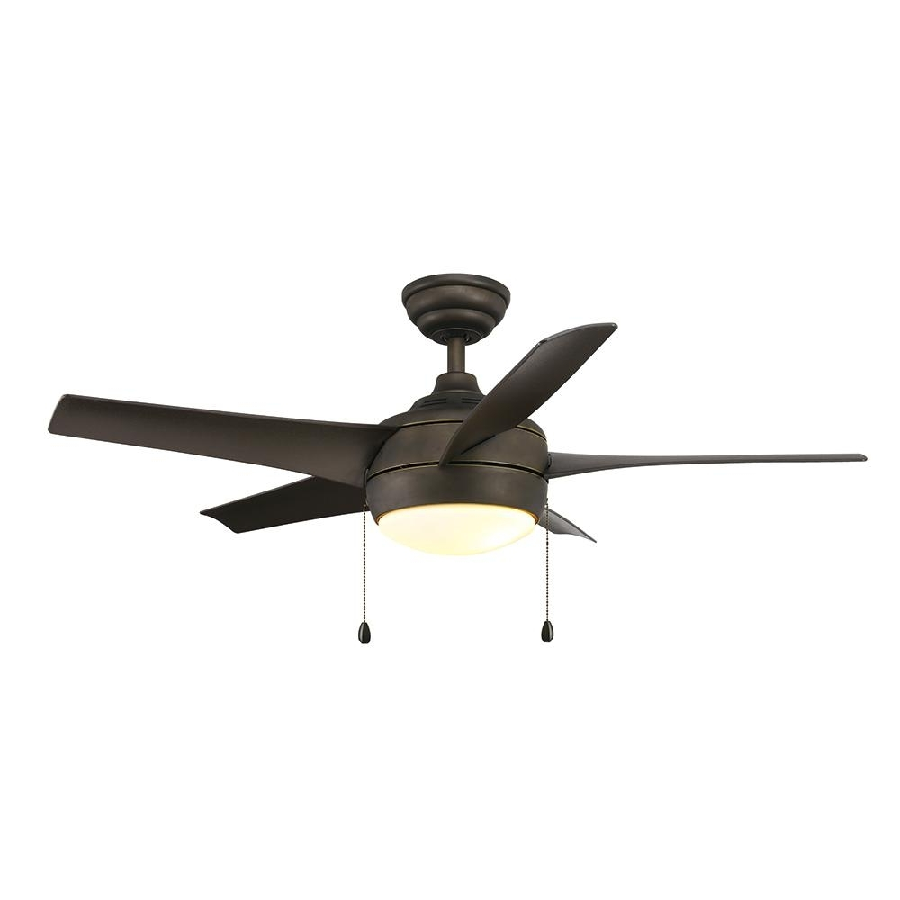 Outdoor Ceiling Fans For Windy Areas Within Widely Used Home Decorators Collection Windward 44 In (View 18 of 20)