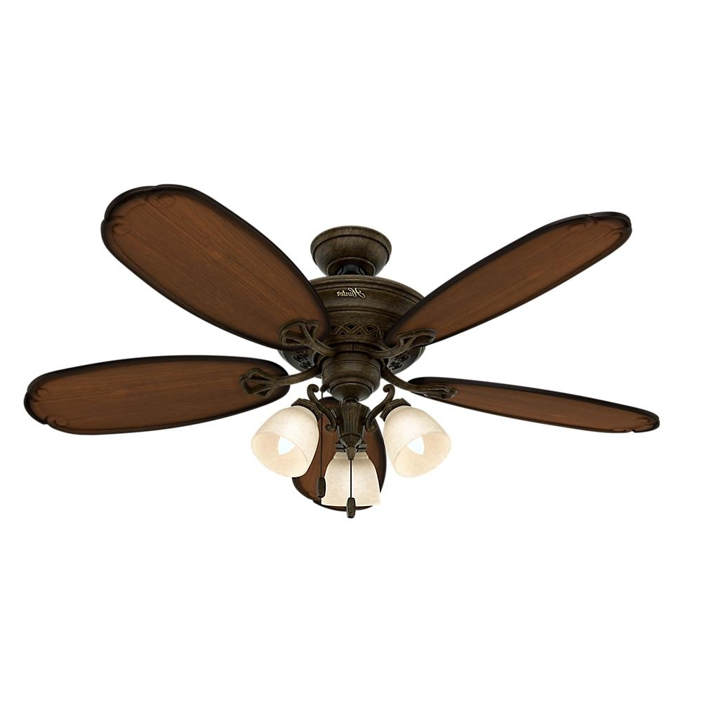 Outdoor Ceiling Fans Under $50 With Regard To Famous Light: Variety Of Styles To Complement Your Home Decor With Menards (View 6 of 20)