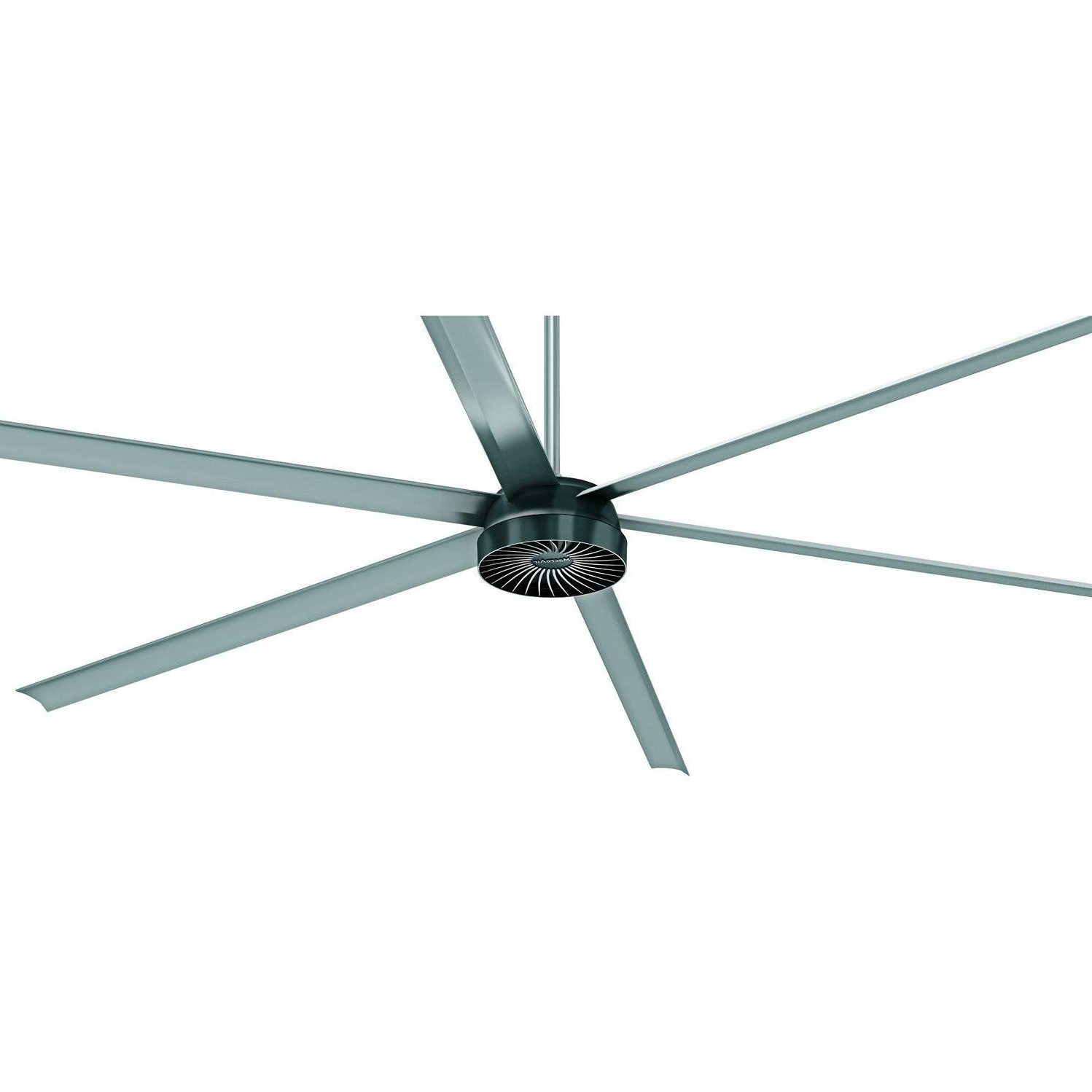 Outdoor Ceiling Fans With Aluminum Blades Intended For 2019 Macroair Airvolution D 370 10 Ft (View 12 of 20)