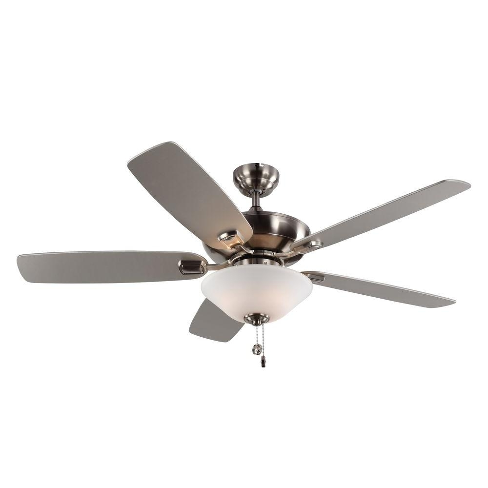 Outdoor Ceiling Fans With Lantern Light Pertaining To Most Popular Monte Carlo Colony Max Plus 52 In (View 12 of 20)