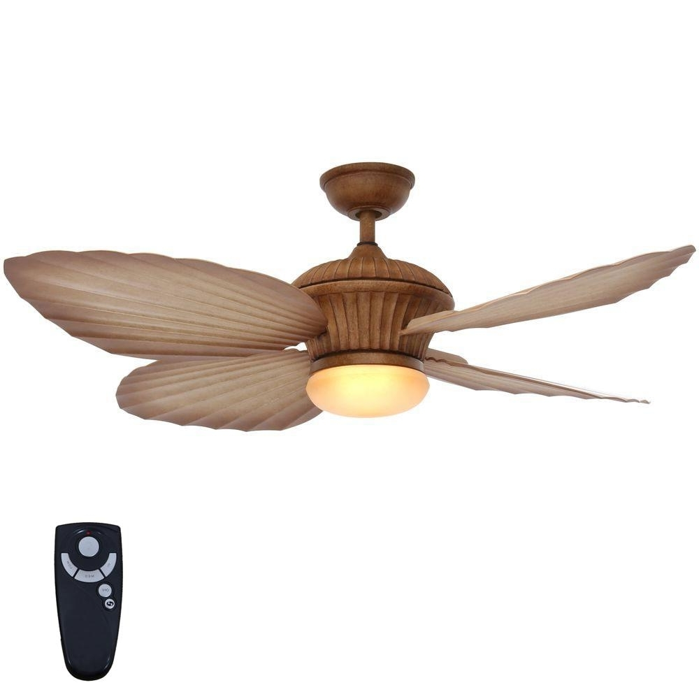 Outdoor Ceiling Fans With Lights And Remote Control Within Widely Used Home Decorators Collection Tropicasa 54 In (View 17 of 20)