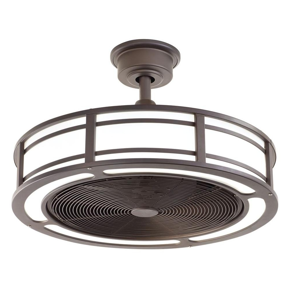 Outdoor Ceiling Fans With Lights At Home Depot With Well Liked 34 Ceiling Fans From Home Depot, Sahara Fans Tortola 52 In Aged (View 16 of 20)