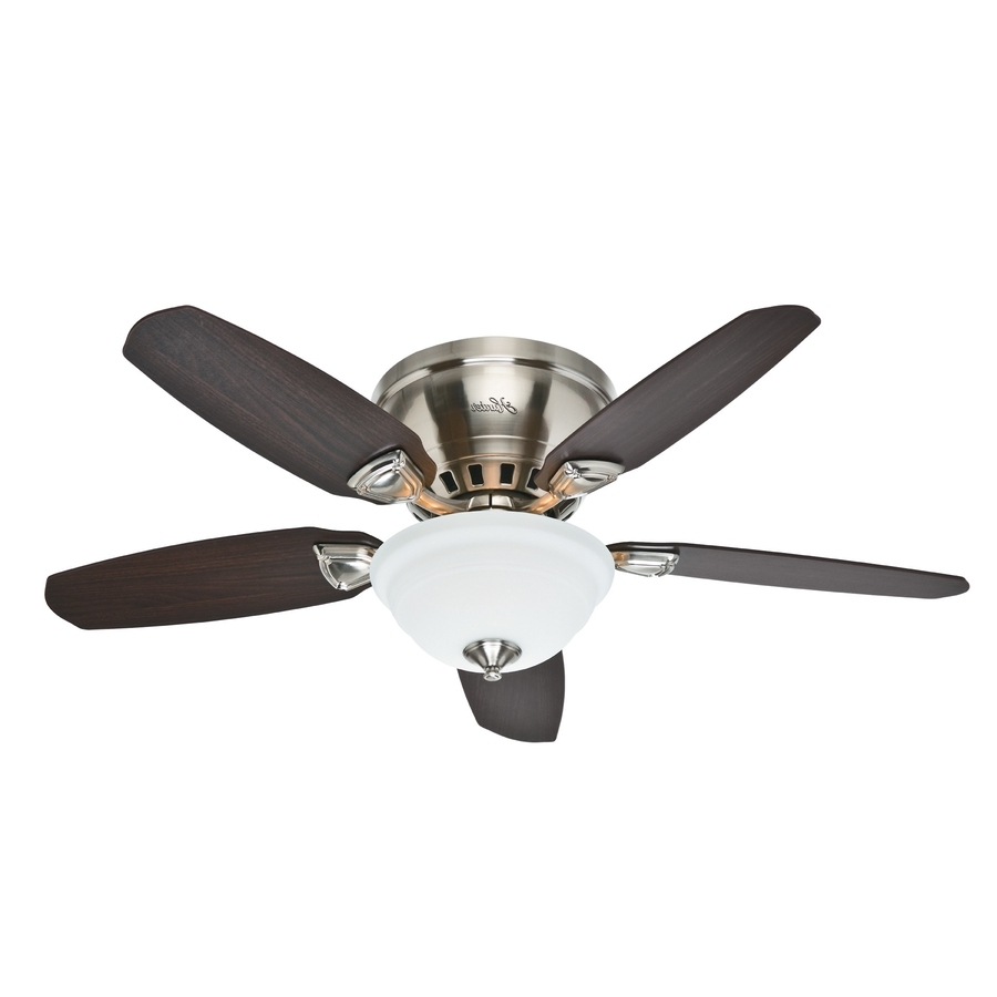Outdoor Ceiling Fans With Lights At Lowes In 2018 Ideas: Hunter Fans Lowes To Keep You Stay Cool And Comfortable (View 13 of 20)