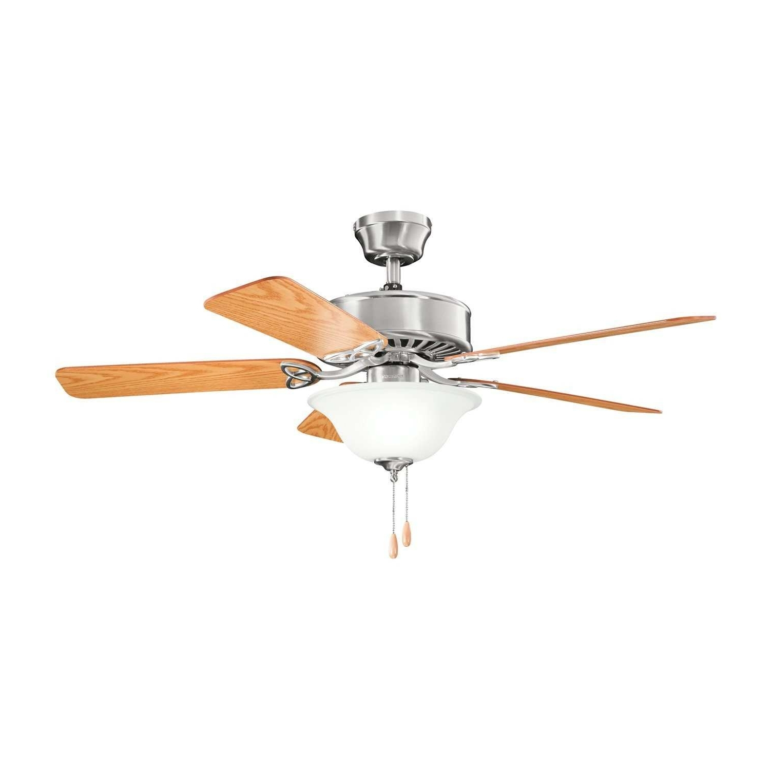 Outdoor Ceiling Fans With Metal Blades Elegant Kichler Mwh 50 In Well Known Outdoor Ceiling Fans At Amazon (View 18 of 21)