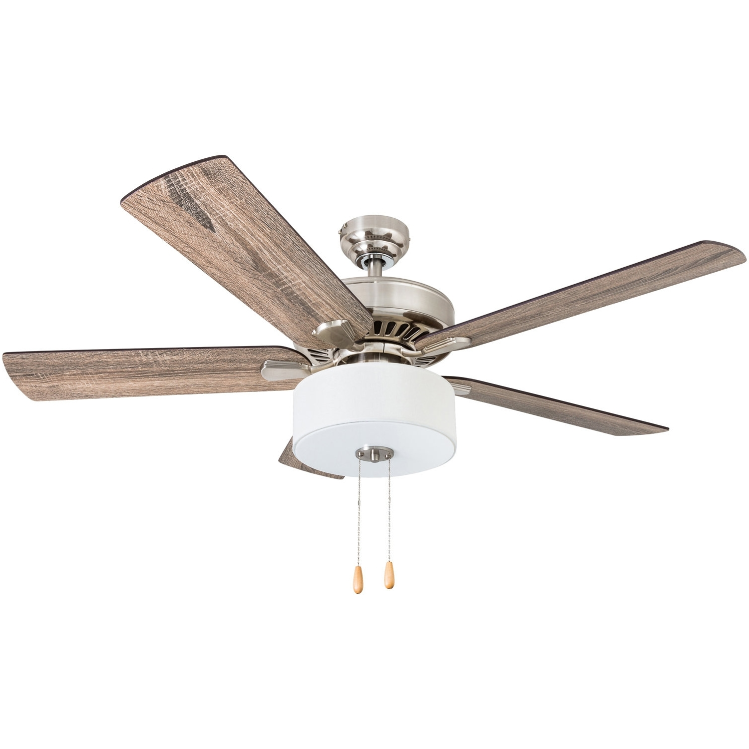 "Outdoor Ceiling Fans With Removable Blades Throughout Well Liked 52"" Pantano 5 Blade Led Ceiling Fan & Reviews (View 15 of 20)"
