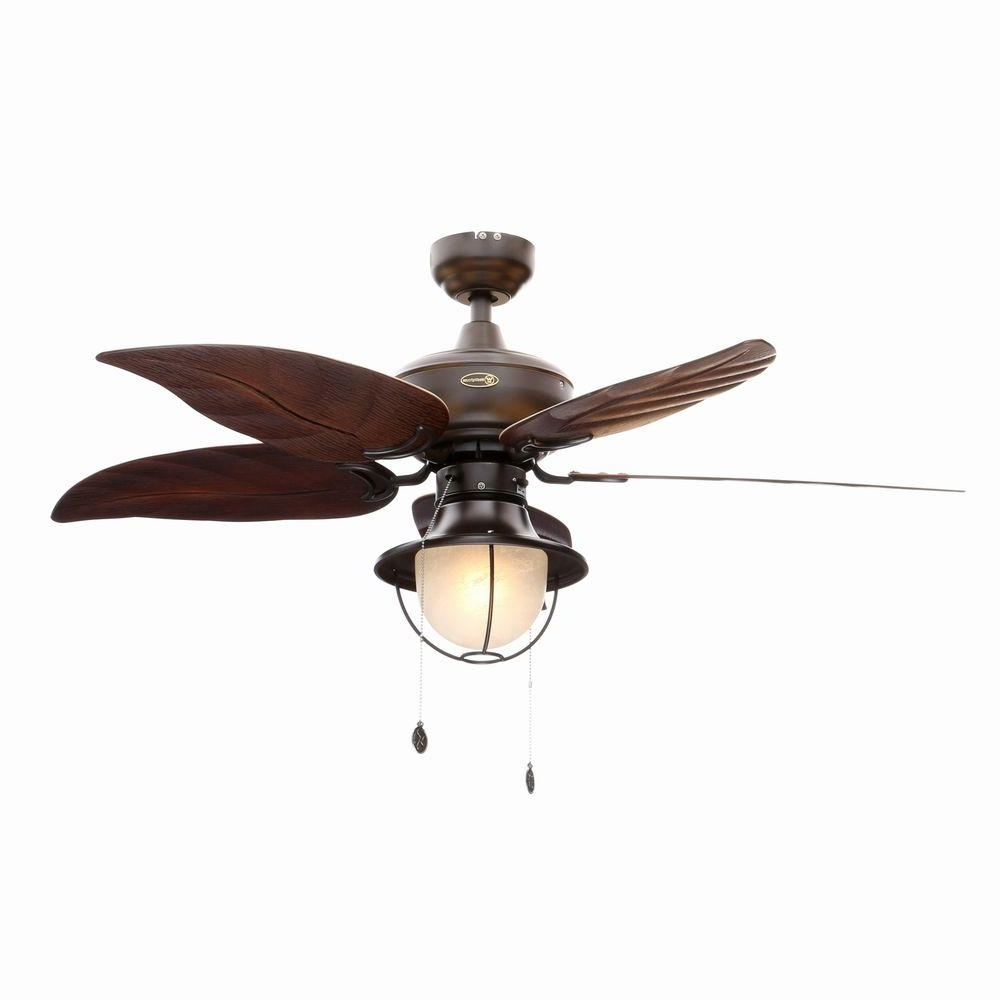Outdoor Ceiling Fans With Schoolhouse Light Throughout Widely Used Westinghouse Oasis 48 In (View 4 of 20)