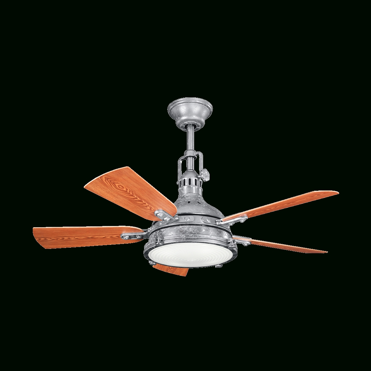 Outdoor Ceiling Fans With Uplights With Regard To Best And Newest 44 Inch Hatteras Bay Patio (View 10 of 20)