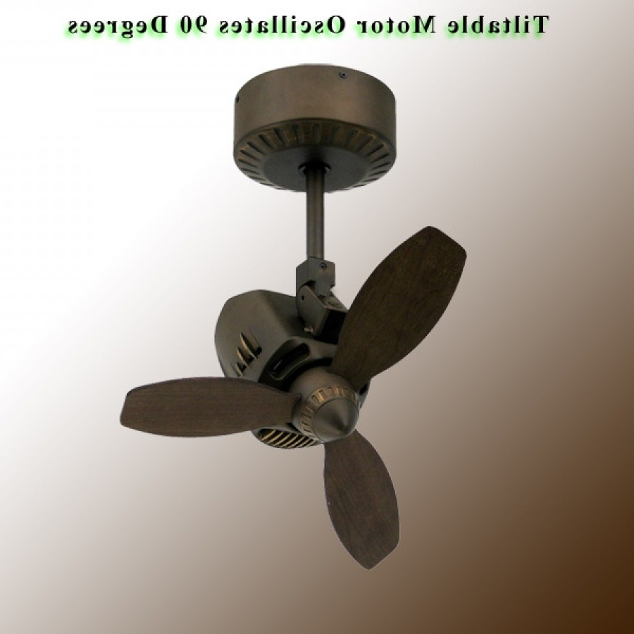 Outdoor Ceiling Mount Oscillating Fans Pertaining To Current Oscillating Ceiling Fan, Mustangtroposair – Oil Rubbed Bronze (View 13 of 20)