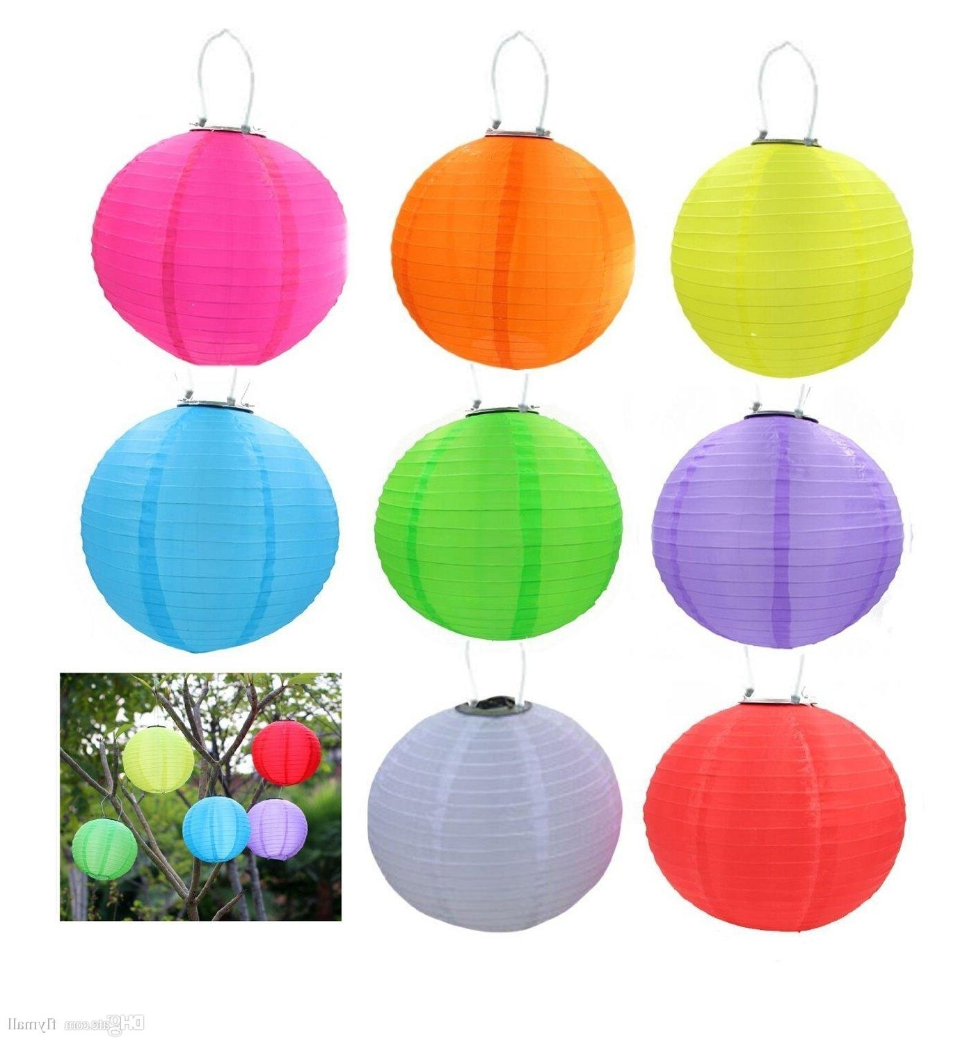 Outdoor Chinese Lanterns For Patio For Most Current Best Solar Lantern Light Chinese Lantern Led Solar Lamp Christmas (Gallery 20 of 20)