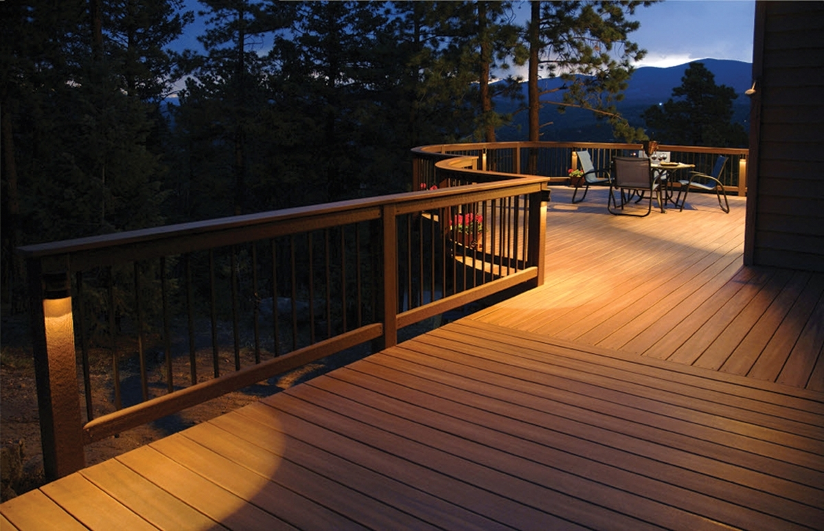 Outdoor Deck Lanterns Inside Fashionable Outdoor Deck Lighting Info : Lovely Outdoor Deck Lighting – Home (View 11 of 20)