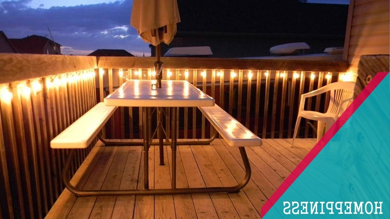 Outdoor Deck String Lighting Ideas For Stairs Rope Nautical Owl Inside Newest Outdoor Deck Lanterns (View 7 of 20)