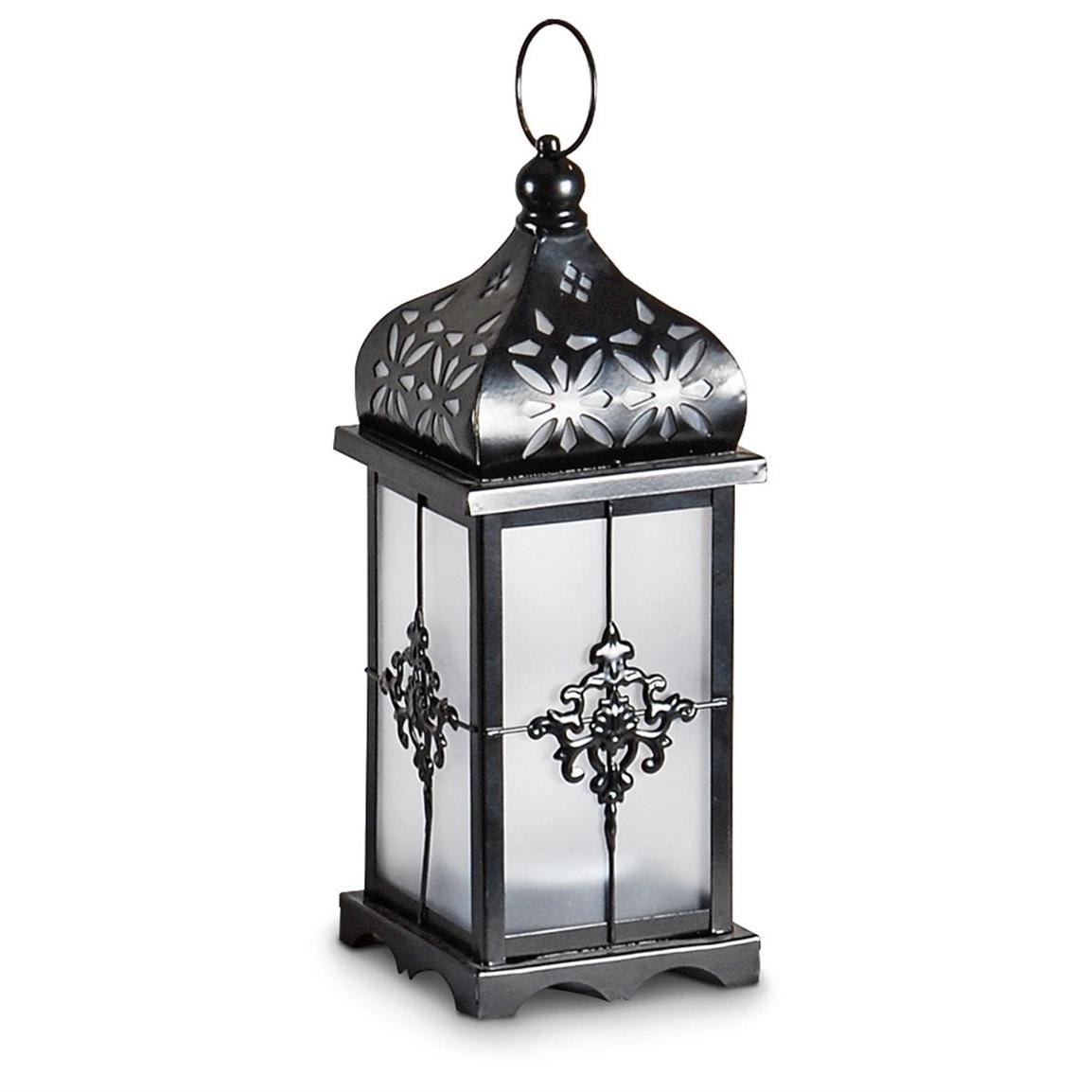 Outdoor Decorative Lanterns For Popular 2 Filigree Solar Lanterns – 232102, Solar & Outdoor Lighting At (Gallery 19 of 20)