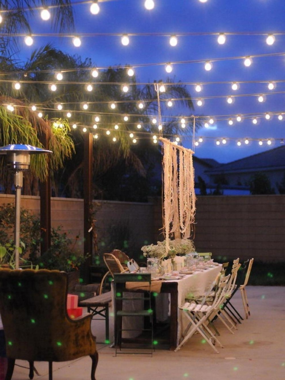 Outdoor Dining Lanterns Regarding Preferred Patio Lighting Ideas For Your Summery Outdoor Space – Traba Homes (View 17 of 20)