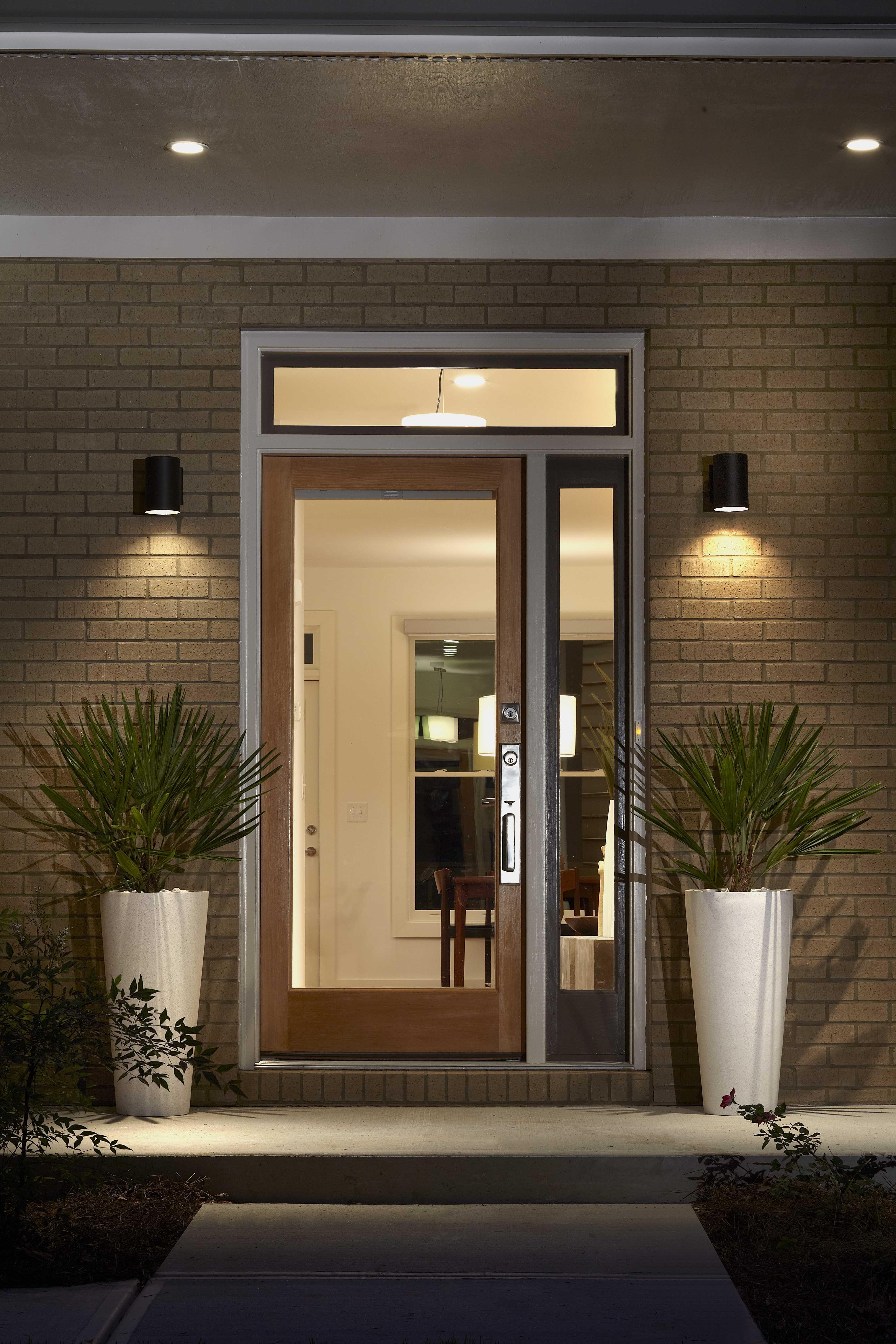 Outdoor Door Lanterns Throughout 2018 Front Door Lighting Uk Recessed Porch Teamns Info Exterior Fixtures (View 10 of 20)