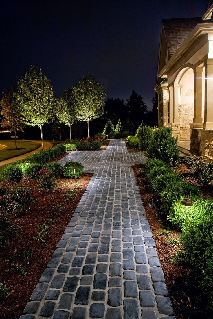 Outdoor Driveway Lanterns In Recent Ideas: Outstanding Classic Home Depot Outdoor Lights For Exterior (View 12 of 20)