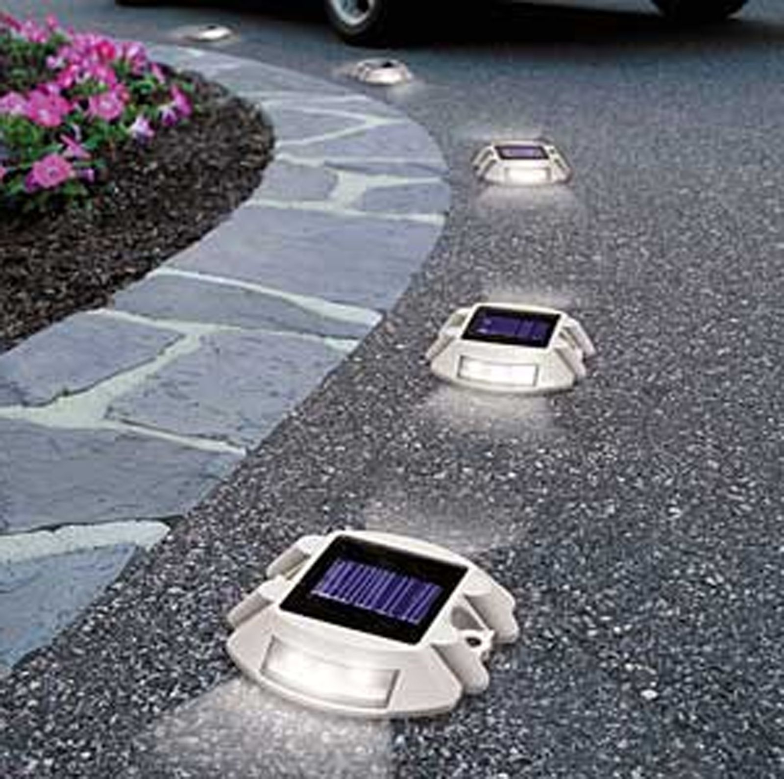 Outdoor Driveway Lanterns Within Current Solar Power 6 Led Outdoor Garden Road Driveway Pathway Dock Path (View 20 of 20)