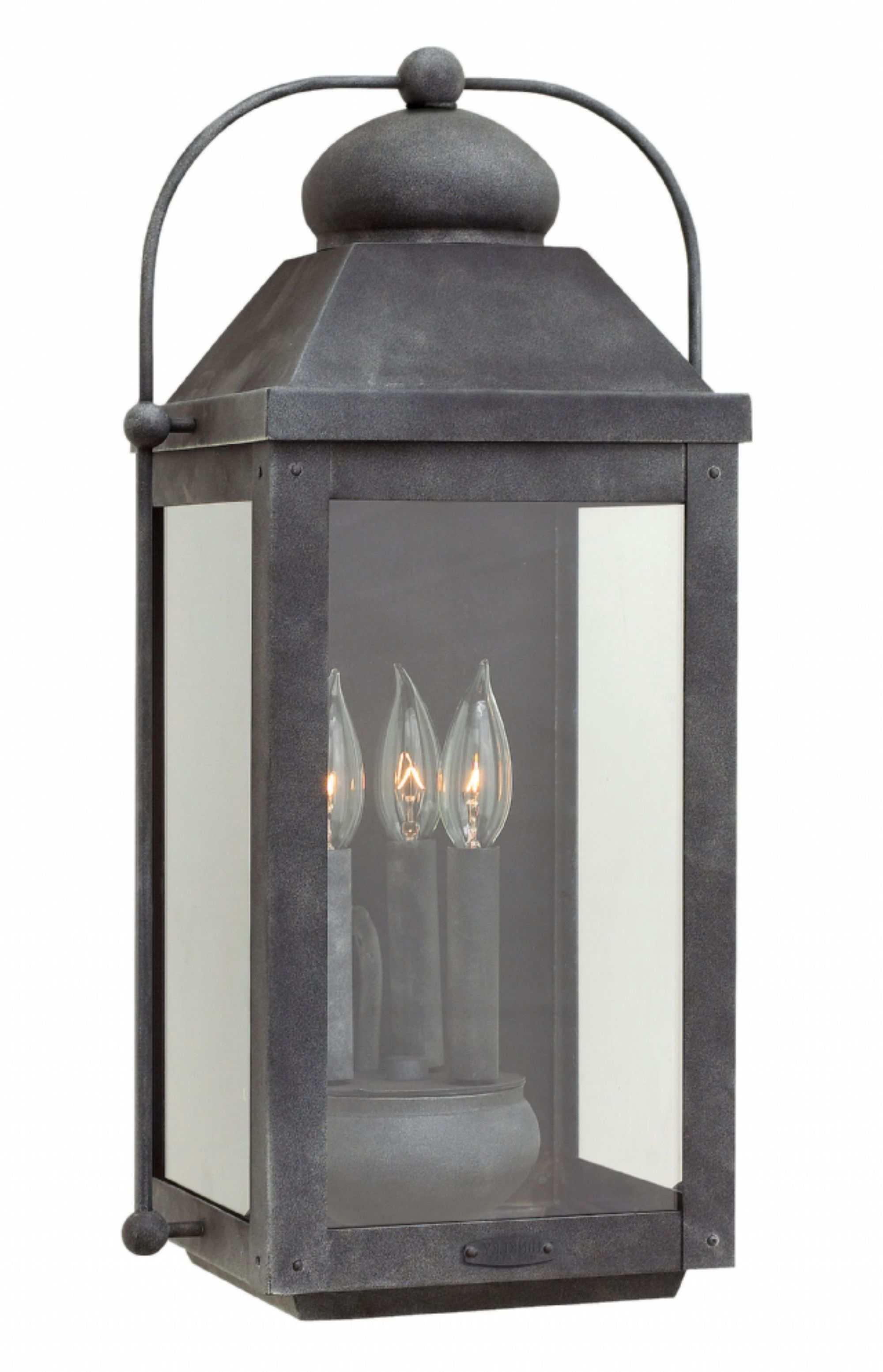 Outdoor Entrance Lanterns Pertaining To Well Known Aged Zinc Anchorage > Exterior Wall Mount (View 11 of 20)