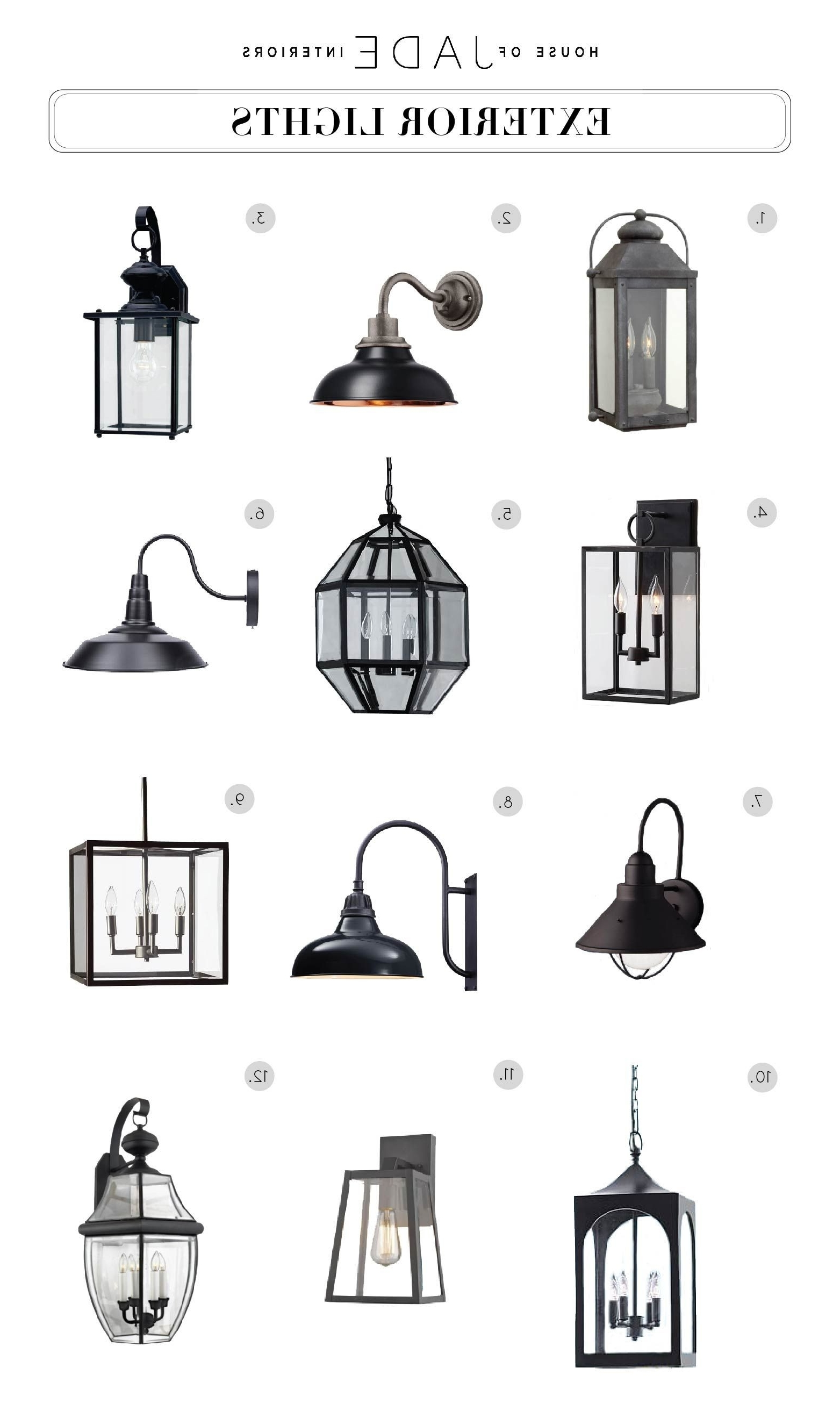 Outdoor Entrance Lights Elegant Nautical Inspired Lantern Outdoor Within Famous Outdoor Entrance Lanterns (View 15 of 20)