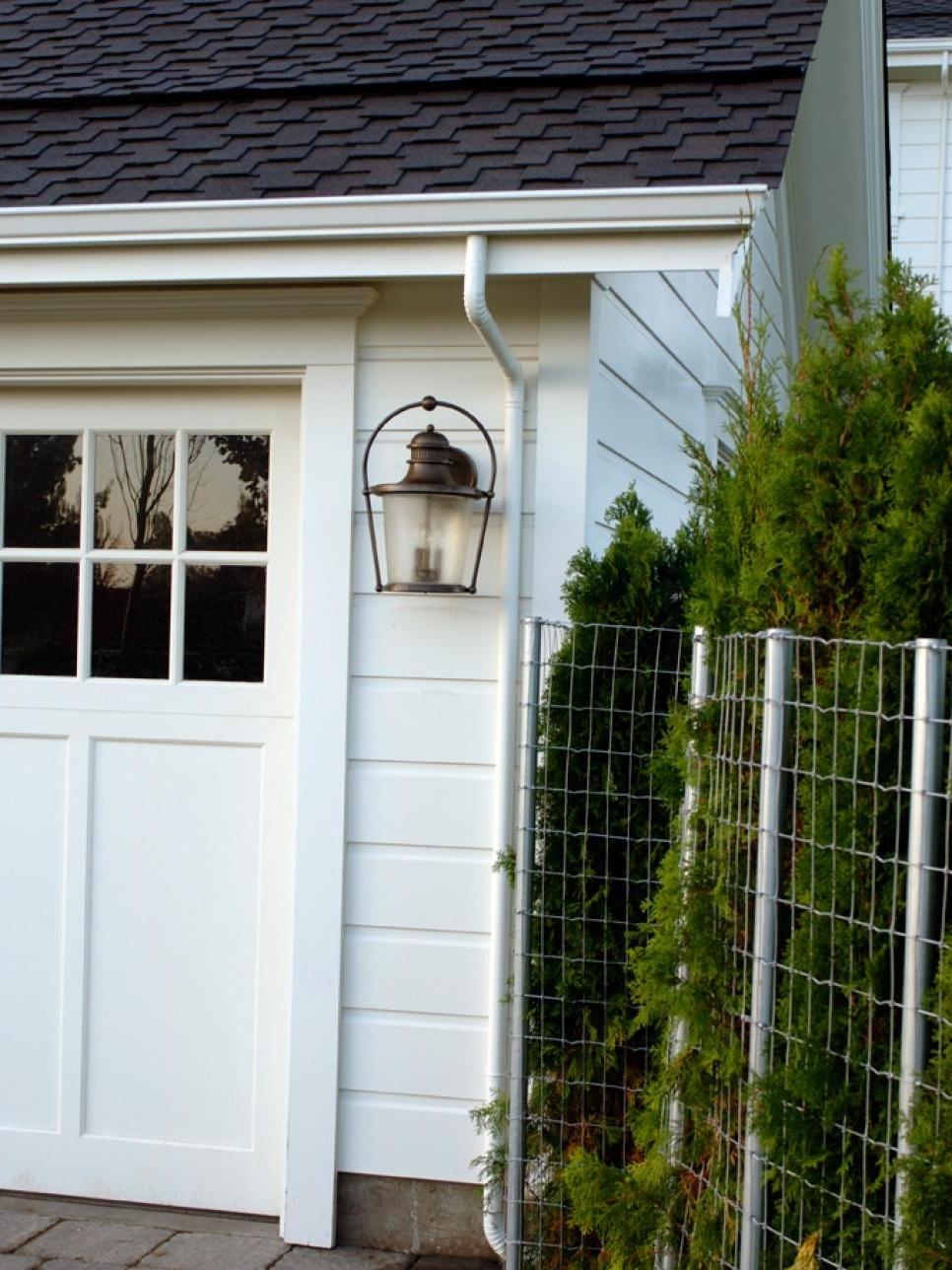 Outdoor Garage Lanterns Inside Most Popular 34 Outdoor Garage Lighting Ideas, 10 Garage Lighting Ideas Hgtv (View 11 of 20)