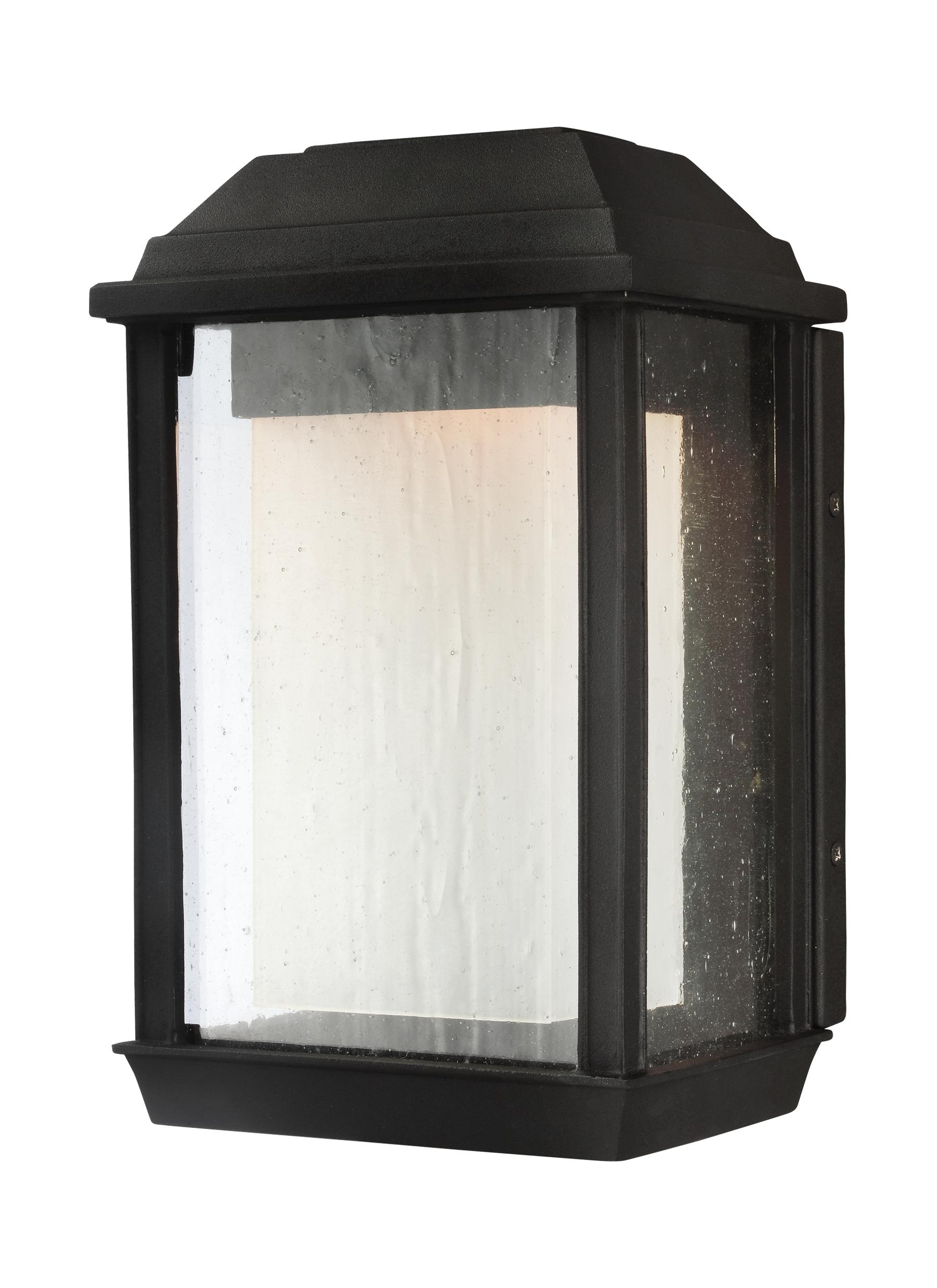 Outdoor Gazebo Lanterns For Recent Ol12800txb Led,1 – Light Outdoor Led Wall Lantern,textured Black (View 4 of 20)