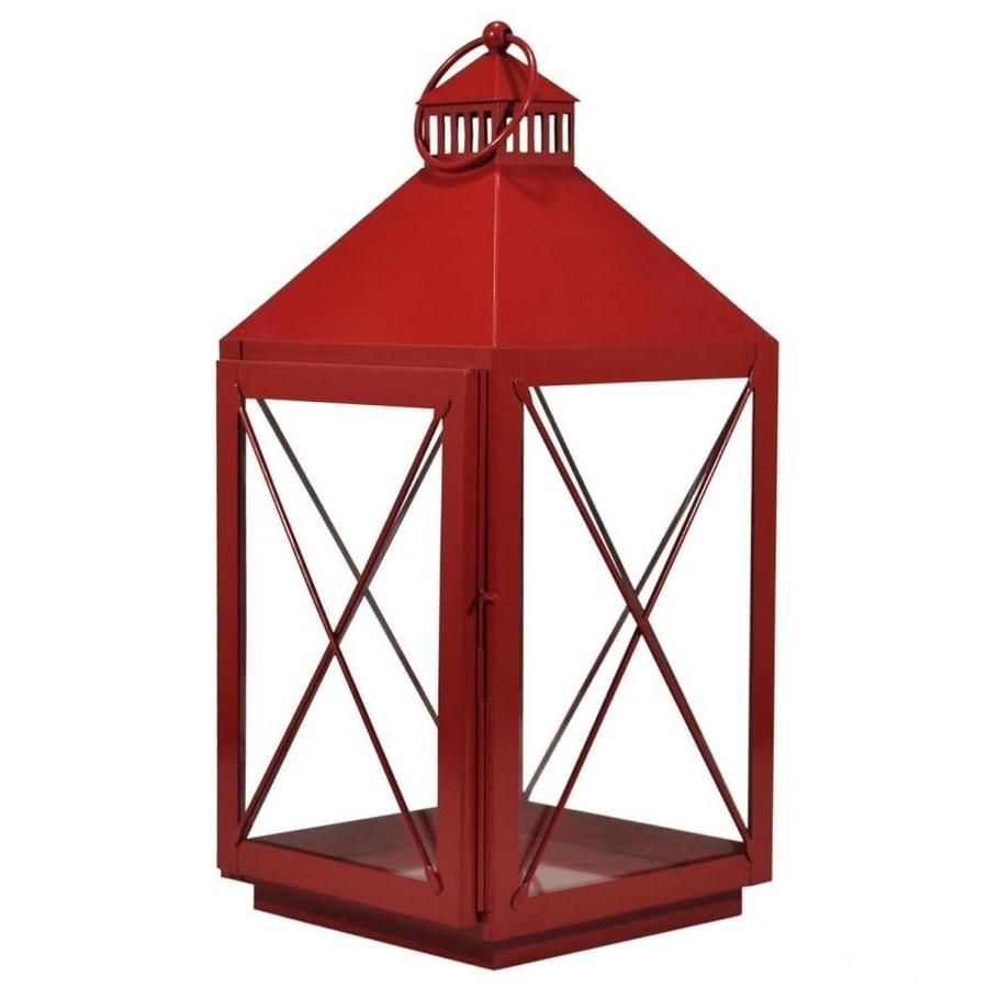 Outdoor Gazebo Lanterns Regarding 2019 Shop Outdoor Decorative Lanterns At Lowes (View 14 of 20)