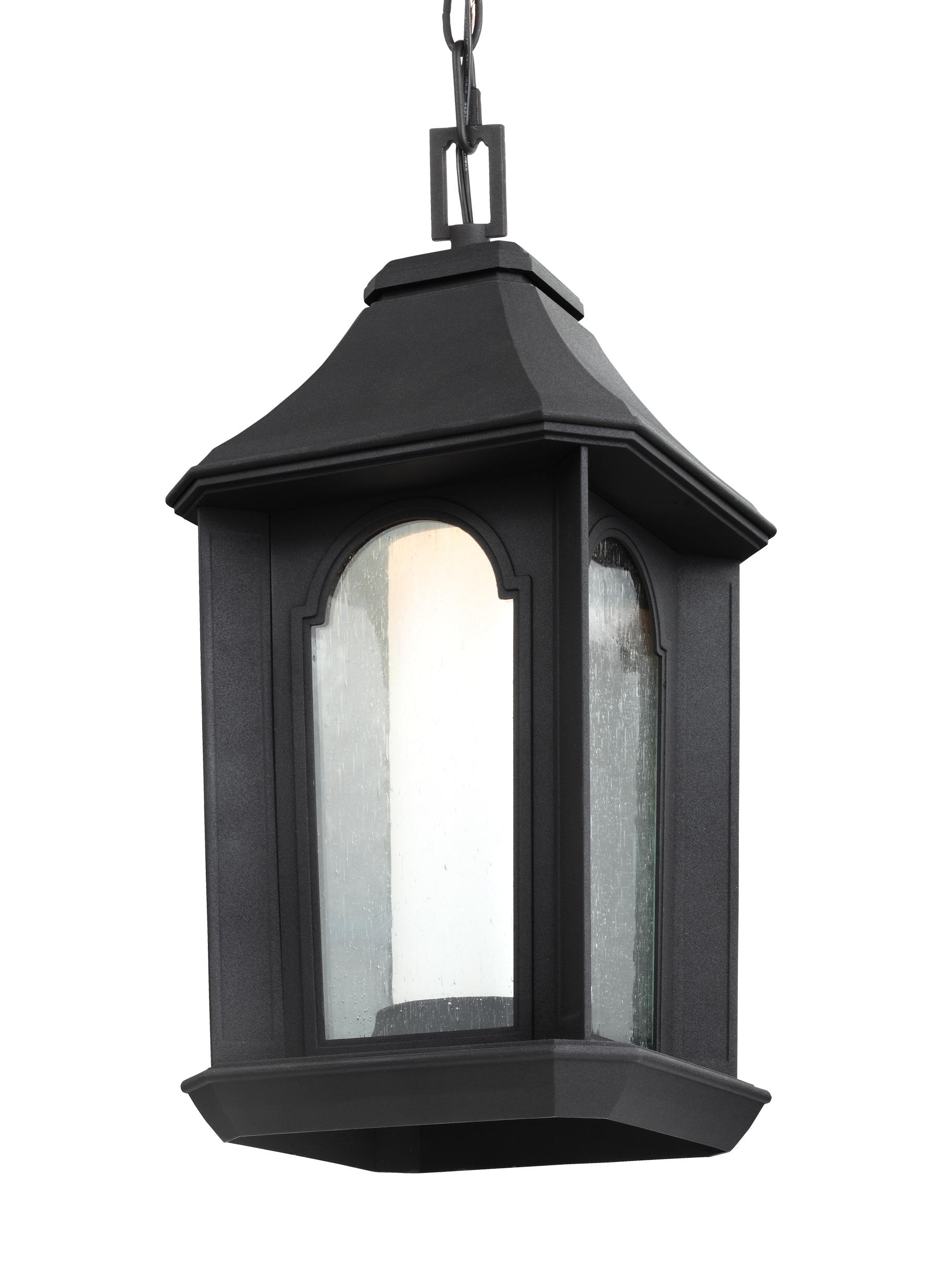 Outdoor Gazebo Lanterns With Preferred Ol11509txb Led,1 – Light Outdoor Led Pendant Lantern,textured Black (View 12 of 20)