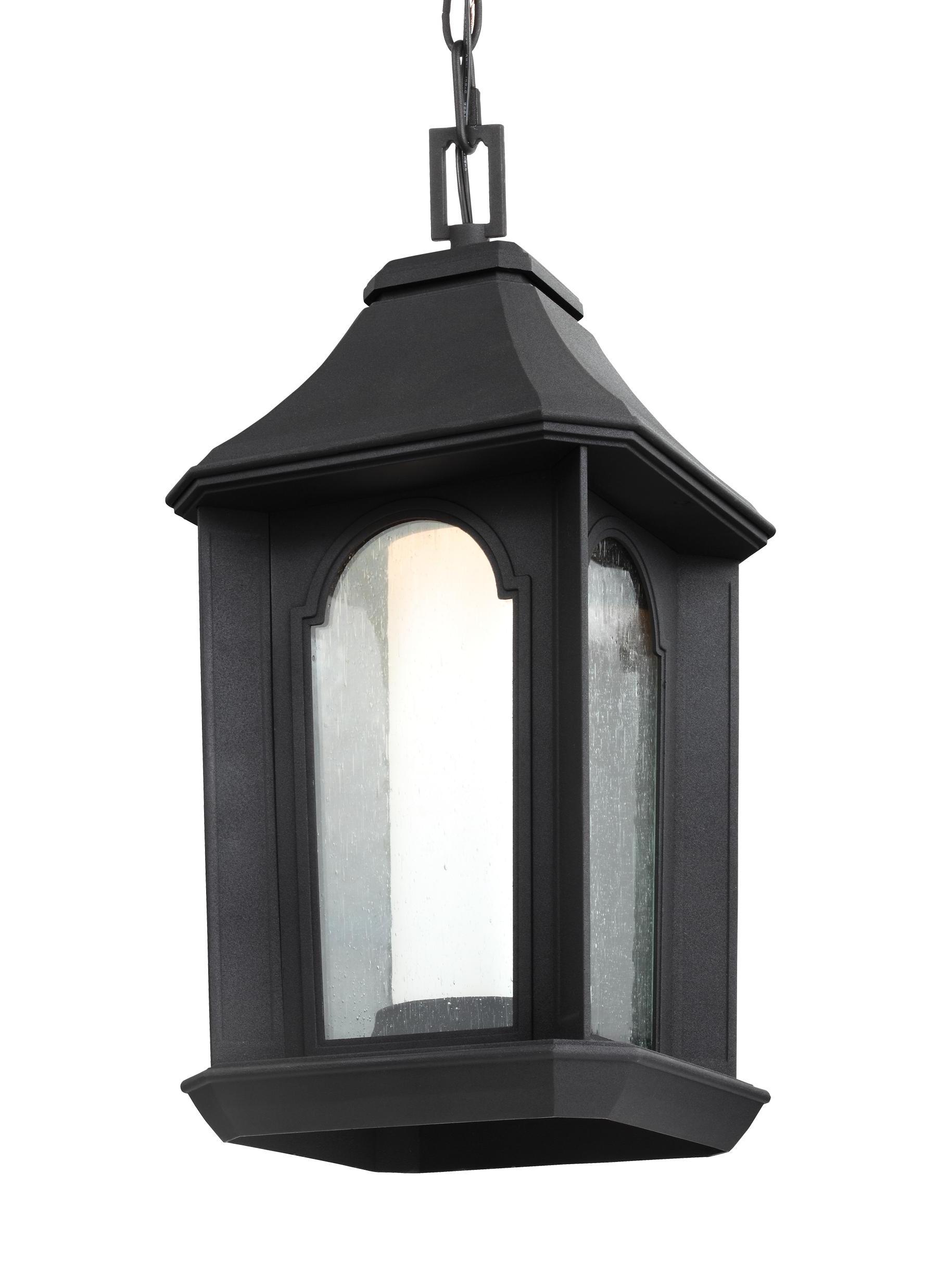 Outdoor Gazebo Lanterns With Preferred Ol11509Txb Led,1 – Light Outdoor Led Pendant Lantern,textured Black (Gallery 12 of 20)