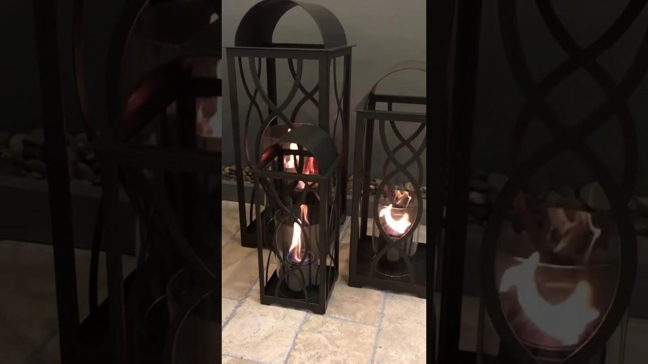 Outdoor Gel Lanterns Regarding Latest Georgian Indoor Outdoor Gel Lanterns – Youtube (Gallery 6 of 20)
