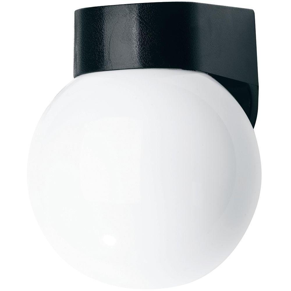 Outdoor Globe Lanterns In Latest Newport Coastal Black Coastal Outdoor Globe Light 7791 03b – The (View 17 of 20)