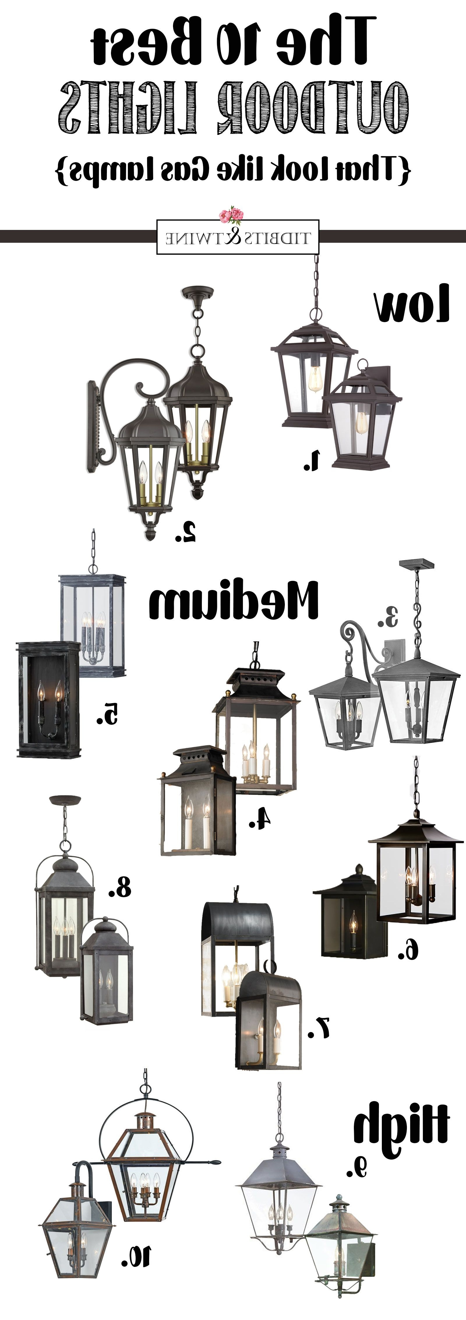 Outdoor Hanging Electric Lanterns Inside Most Up To Date The Best Outdoor Hanging Lantern & Sconce Sets (View 3 of 20)
