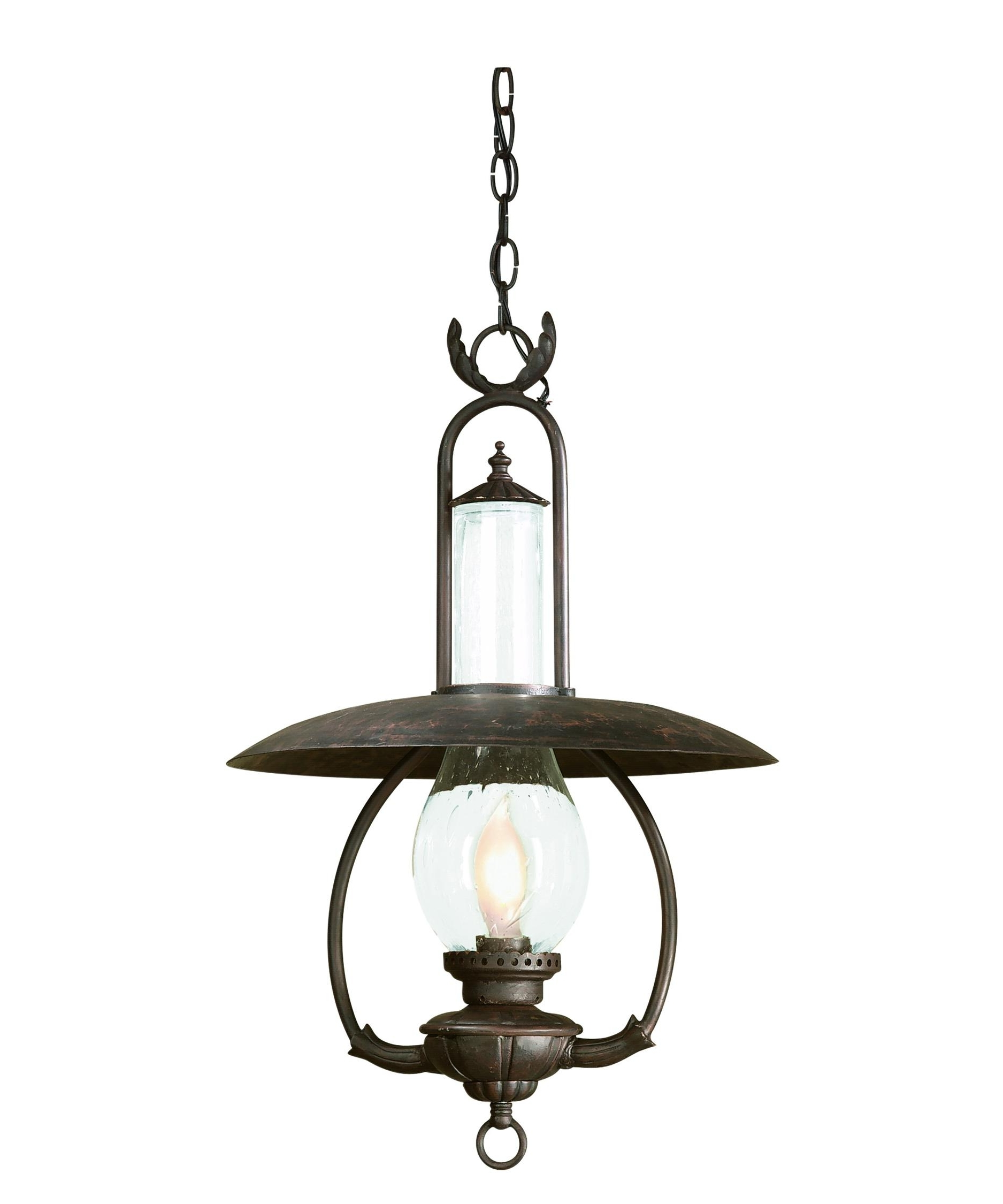 Outdoor Hanging Lanterns For Candles Inside Newest Troy Lighting Fcd9013 La Grange 16 Inch Wide 1 Light Outdoor Hanging (View 15 of 20)