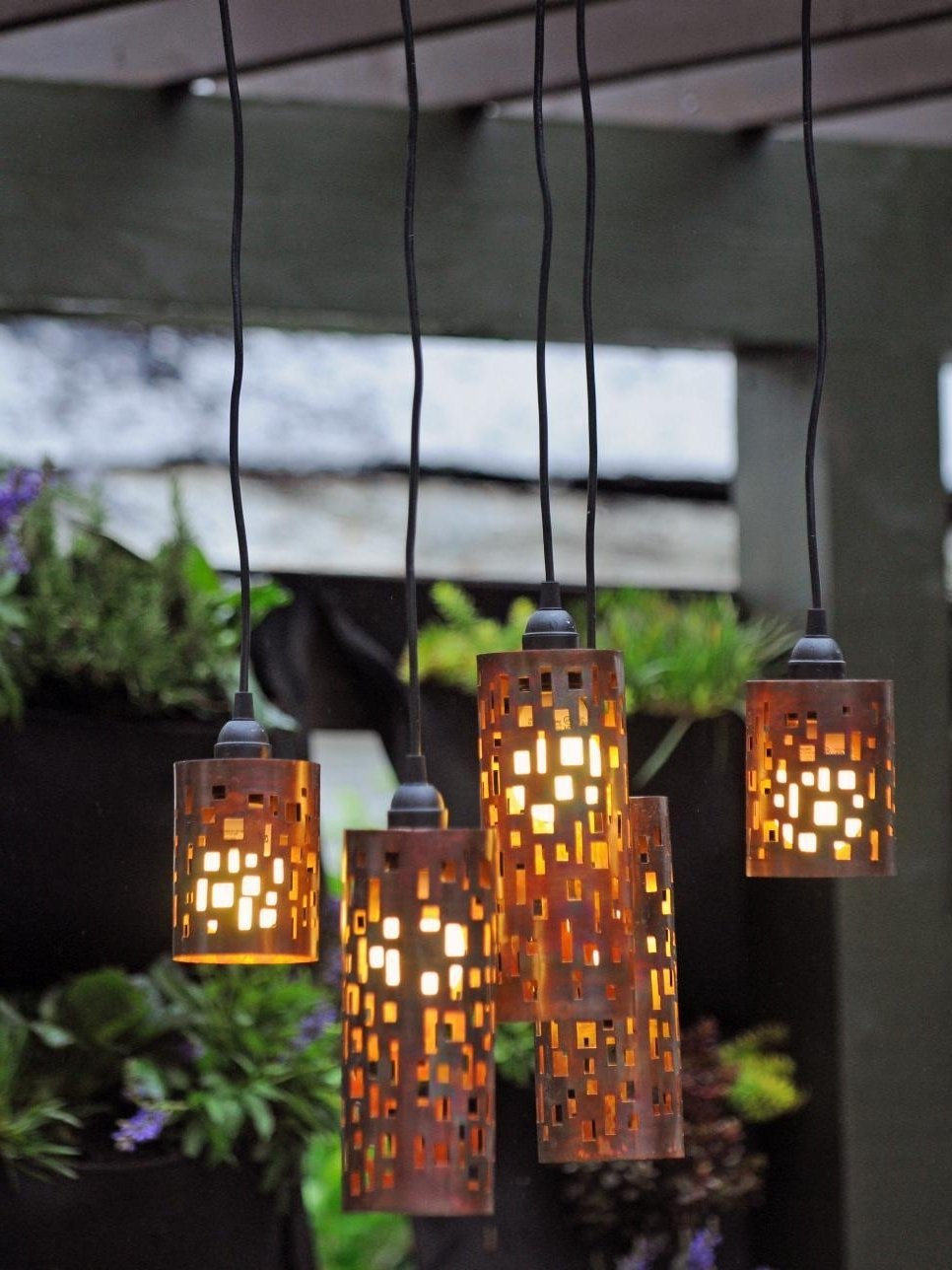 Outdoor Hanging Lanterns For Trees For Favorite Masterly Solar Patio Deck Lighting Bass Patio Lights Palm Tree Patio (View 14 of 20)