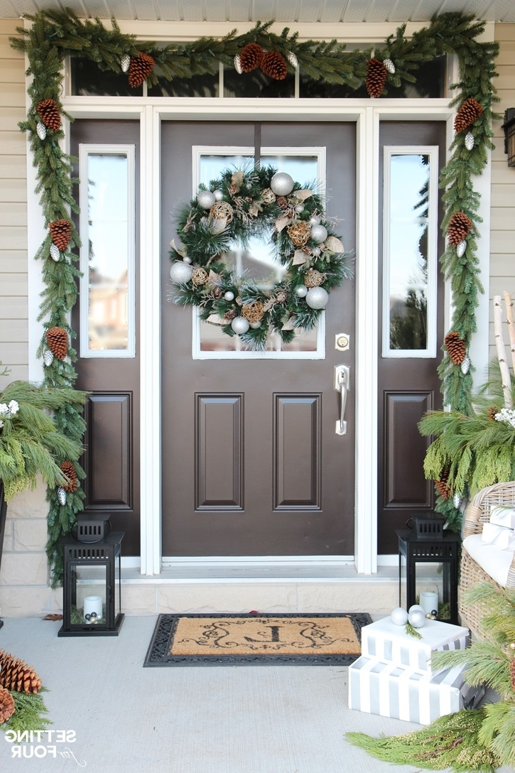 Outdoor Holiday Lanterns In Favorite 10 Minute Christmas Lantern Decor – Setting For Four (View 8 of 20)