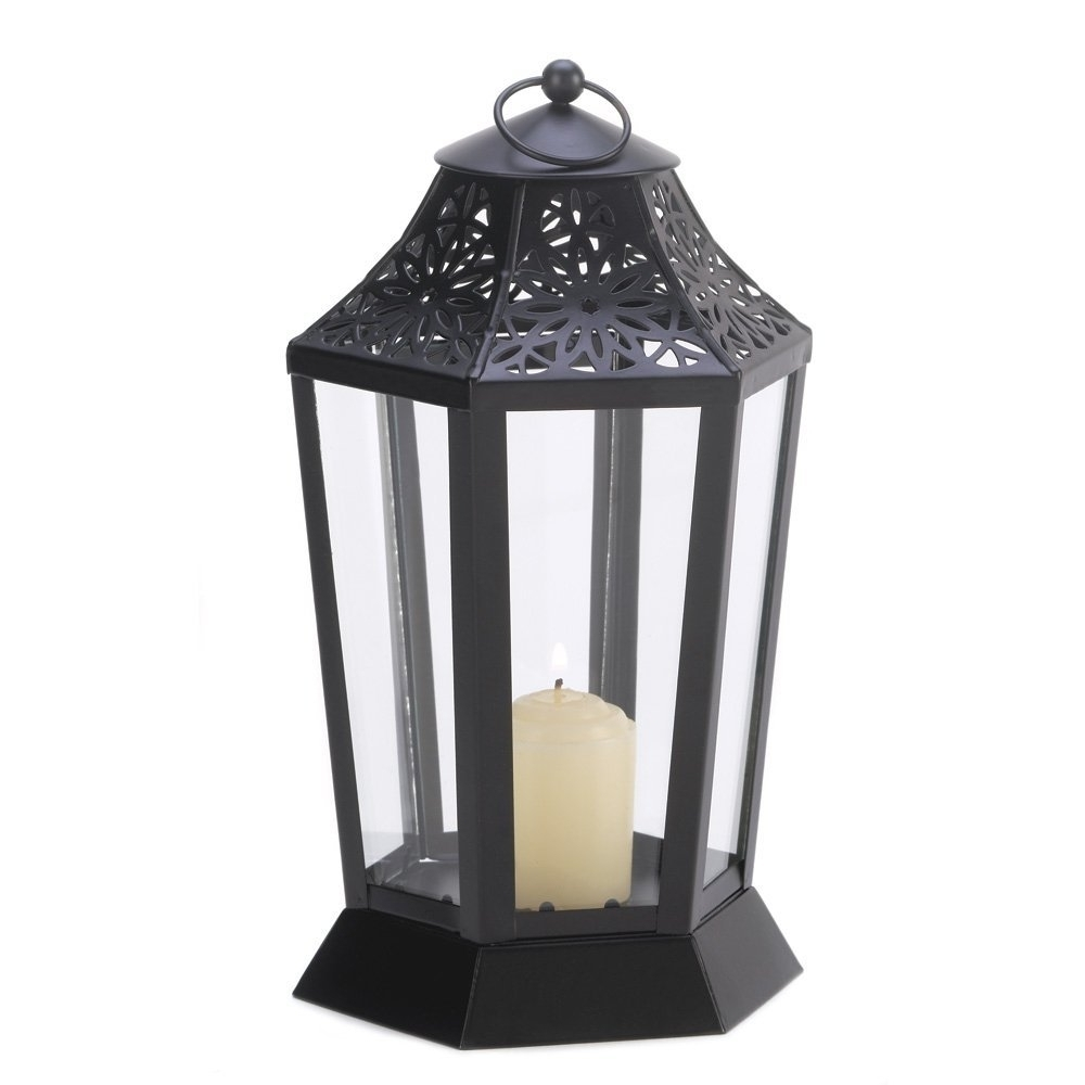 Outdoor Hurricane Lanterns Within Most Popular Cheap Black Hurricane Lantern, Find Black Hurricane Lantern Deals On (View 13 of 20)