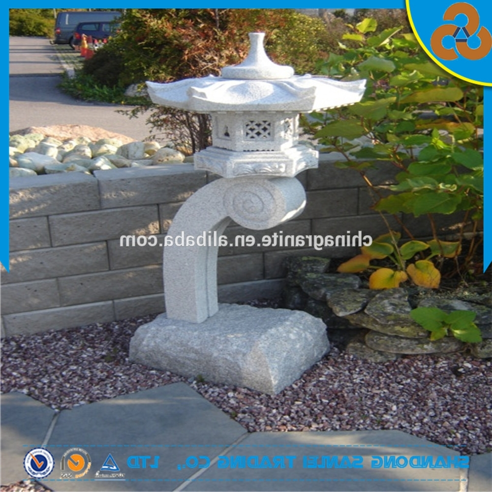 Outdoor Japanese Lanterns For Sale Regarding Most Recently Released Garden Decor Outdoor Japanese Stone Lanterns Sale Best Prices – Buy (View 3 of 20)