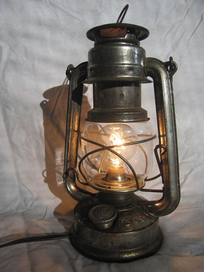 Outdoor Kerosene Lanterns In Widely Used Convert A Kerosene Lantern Into An Electric Lamp (View 3 of 20)