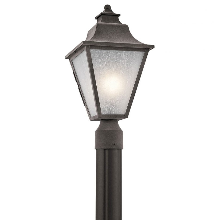Outdoor Lamp Lanterns Within Best And Newest Post Lantern Yard Lamp Post Outdoor Lamp Post Tops Driveway Post (View 11 of 20)