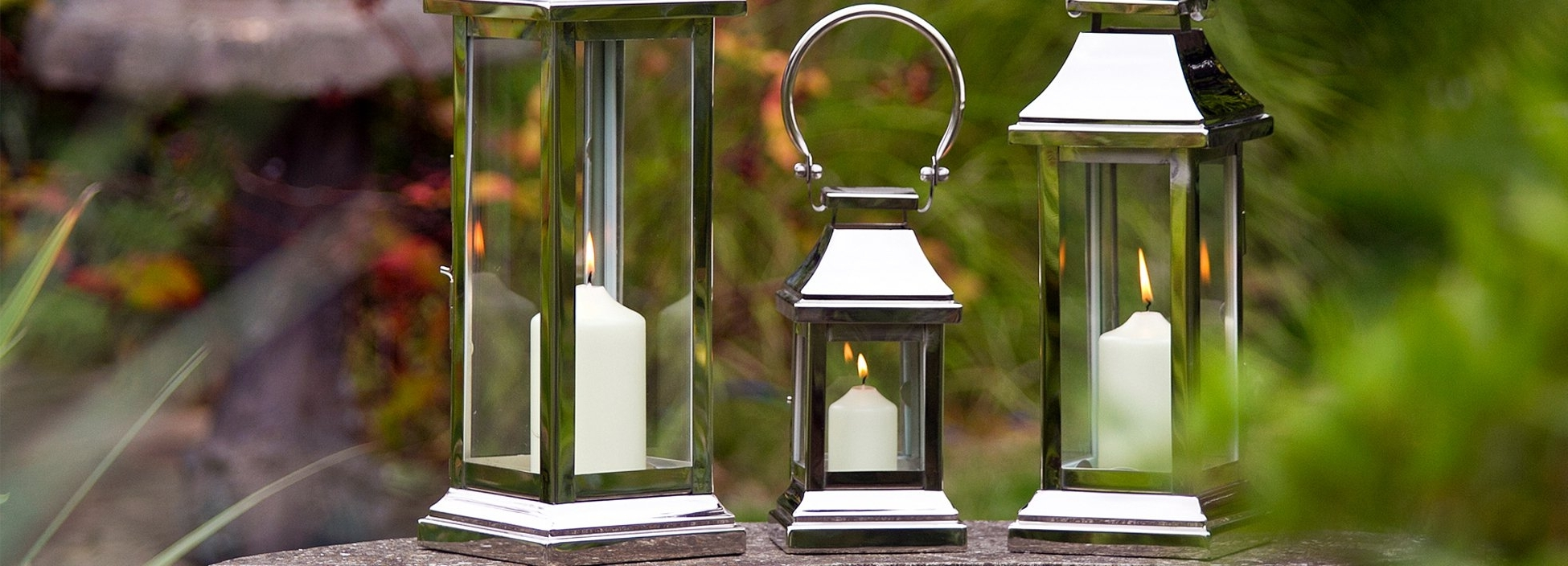 Outdoor Lanterns And Candles Regarding 2018 Indoor Candle Lanterns & Garden Lanterns (View 11 of 20)