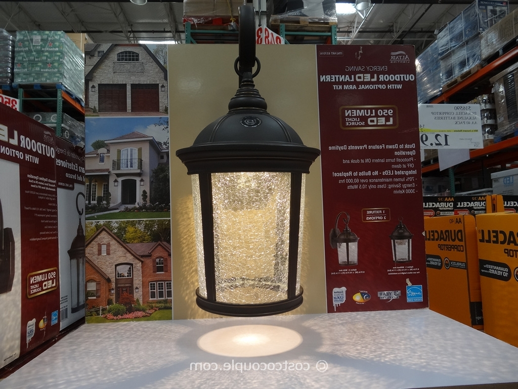 Outdoor Lanterns At Costco With Most Current Altair Outdoor Led Lantern (View 14 of 20)
