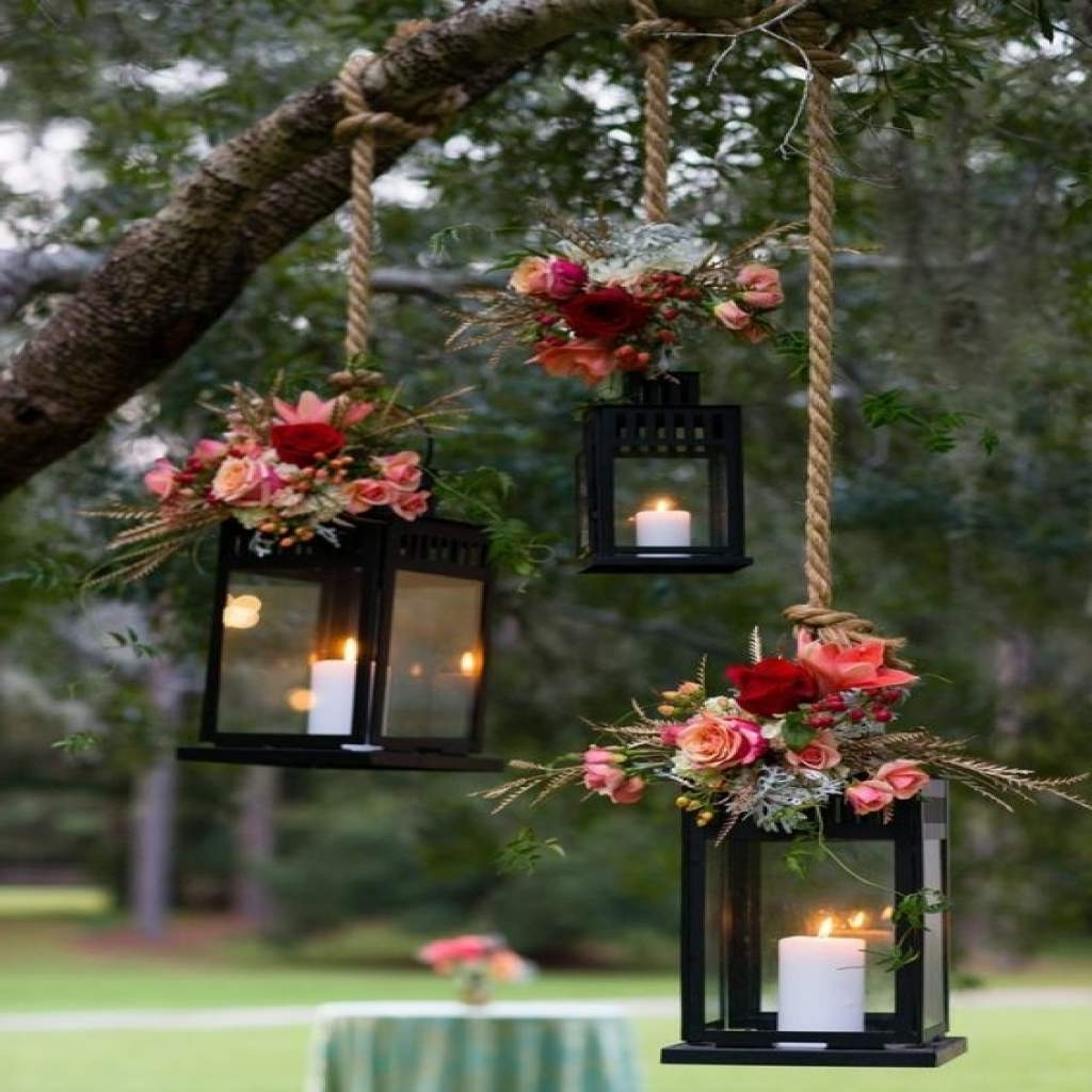 Outdoor Lanterns Decors With Regard To 2019 10 Decorative Lanterns For Outdoor Decor Ideas – Patio, Porch, Deck (View 16 of 20)
