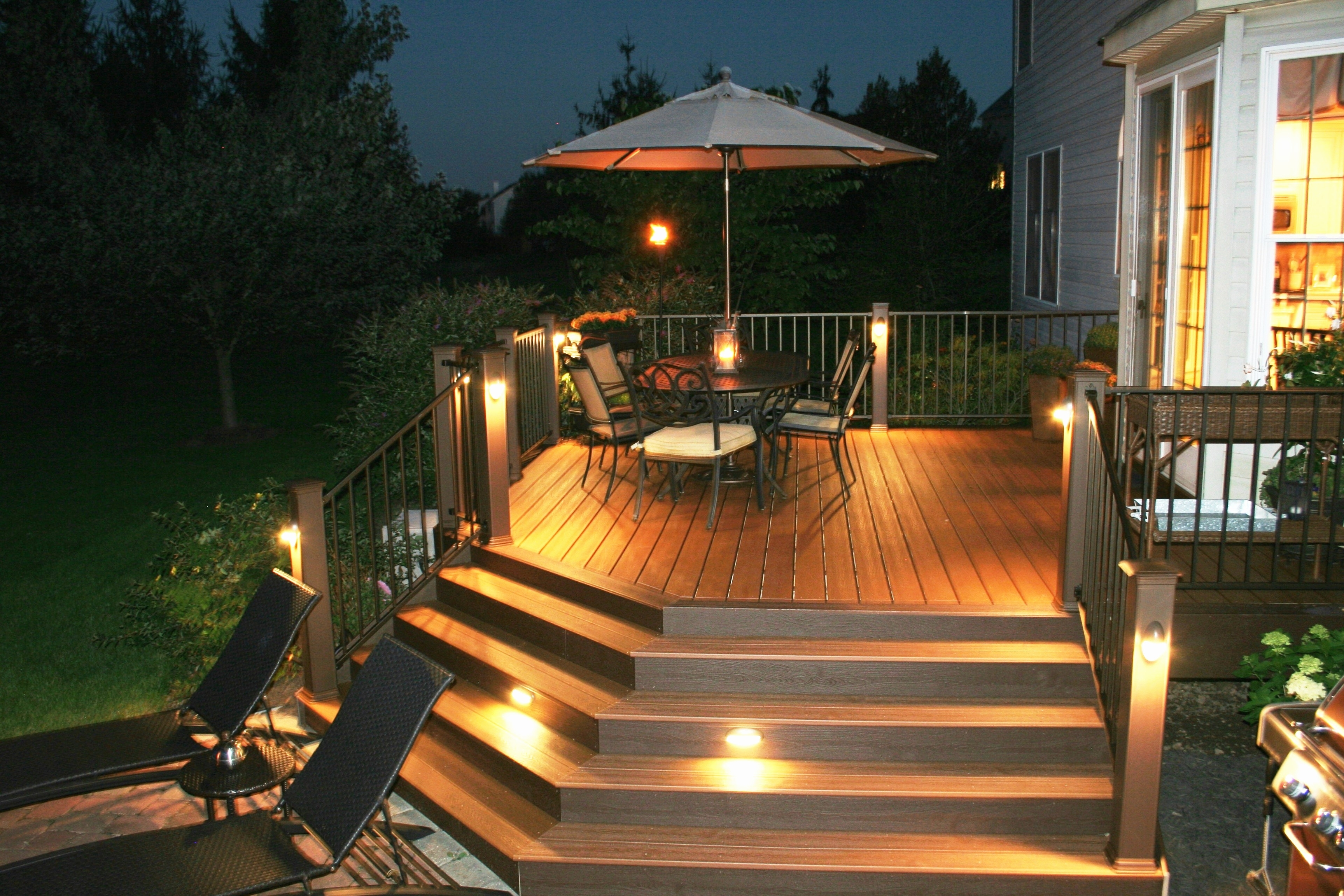 Outdoor Lanterns For Deck For 2019 Outdoor Stair Lighting Ideas Elegant Recessed Led Deck Lighting Kits (View 13 of 20)