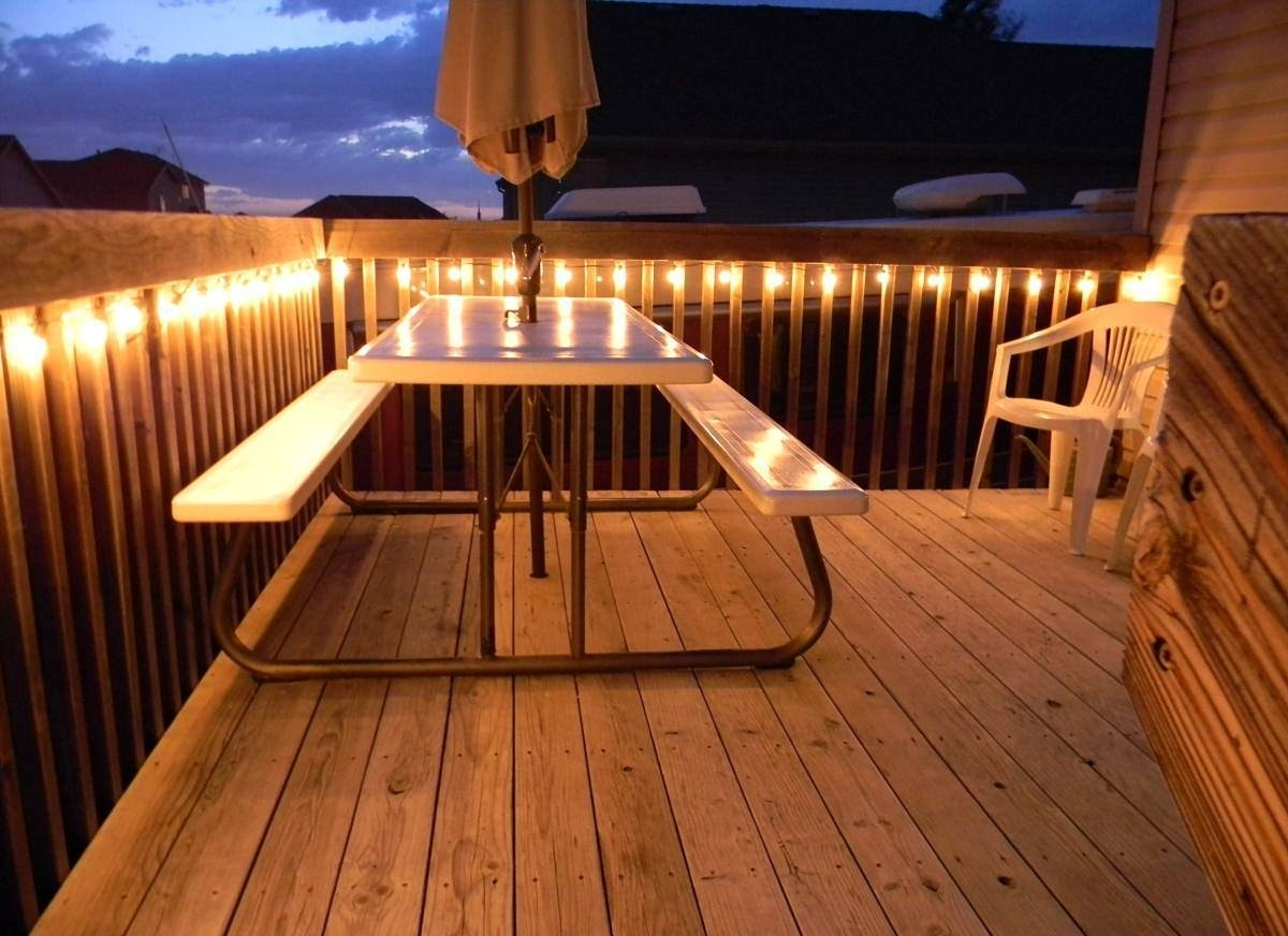 Outdoor Lanterns For Deck Within Most Current How To Hang Outdoor Lights On Deck – Outdoor Lighting Ideas (View 5 of 20)