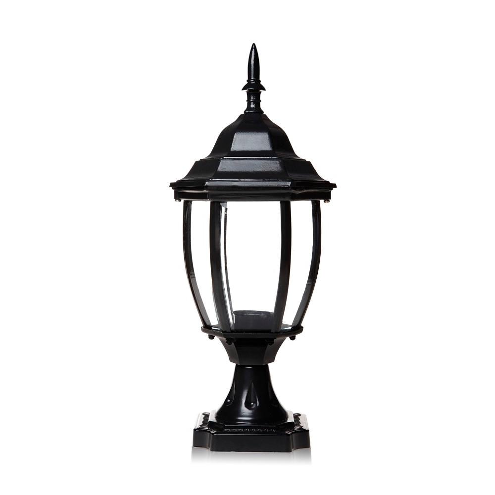 Outdoor Lanterns For Pillars For Famous 1pc 85v 280v Pillar Fence Lights Outdoor Lamp Post Cap Aluminum Heat (View 12 of 20)