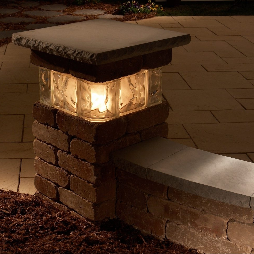 Outdoor Lanterns For Pillars Pertaining To 2018 Led Outdoor Column Lighting (View 3 of 20)